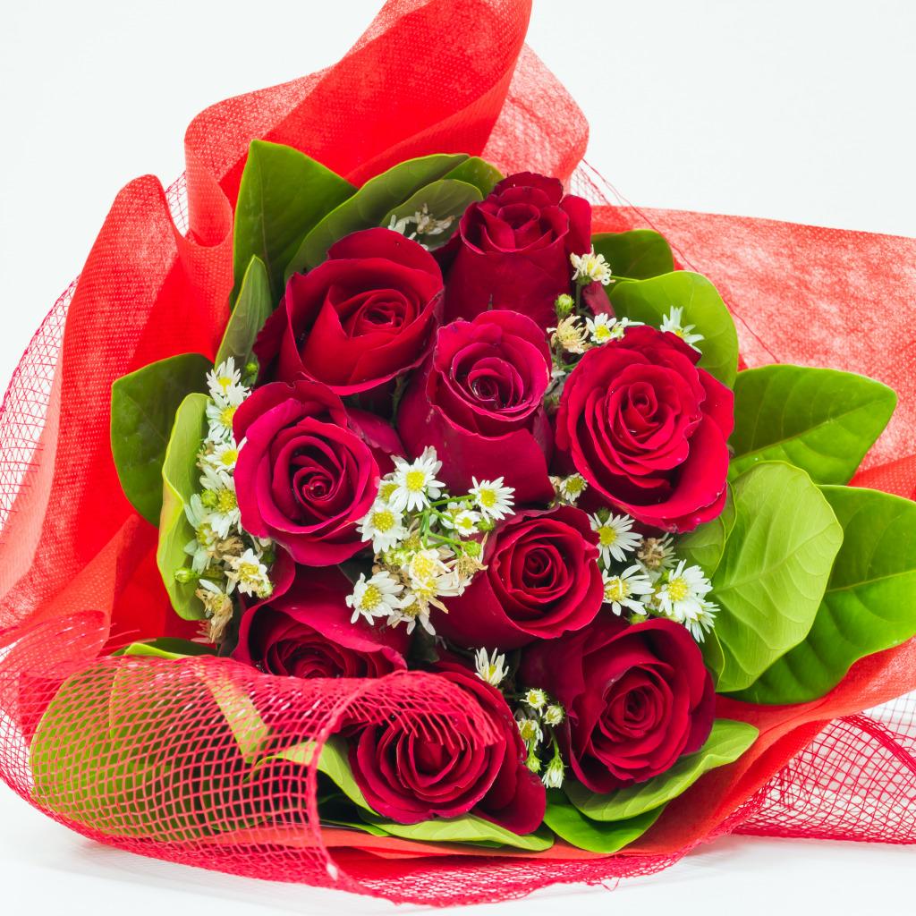 Download Wallpaper Flowers Romance Roses Bouquet Rose Flower I