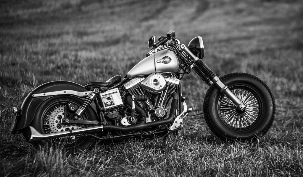 мотоцикл черный харлей  № 23726 без смс