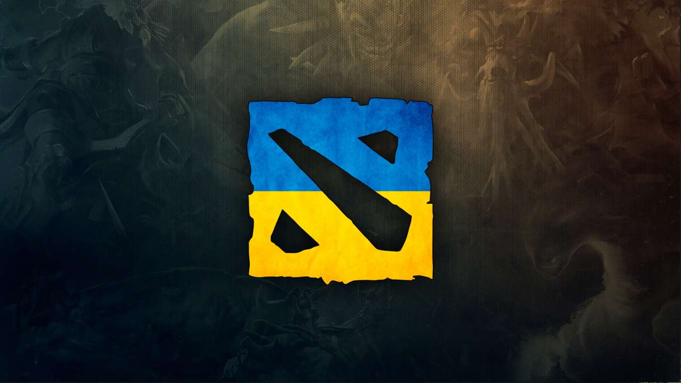 Download Wallpaper The Game Dota 2 Ukraine Logo