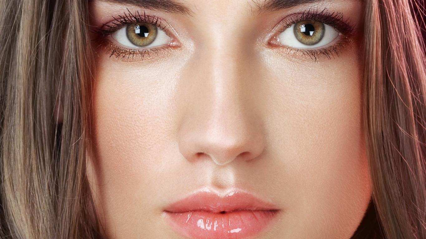 Серые глаза с желтыми вкраплениями цвет волос