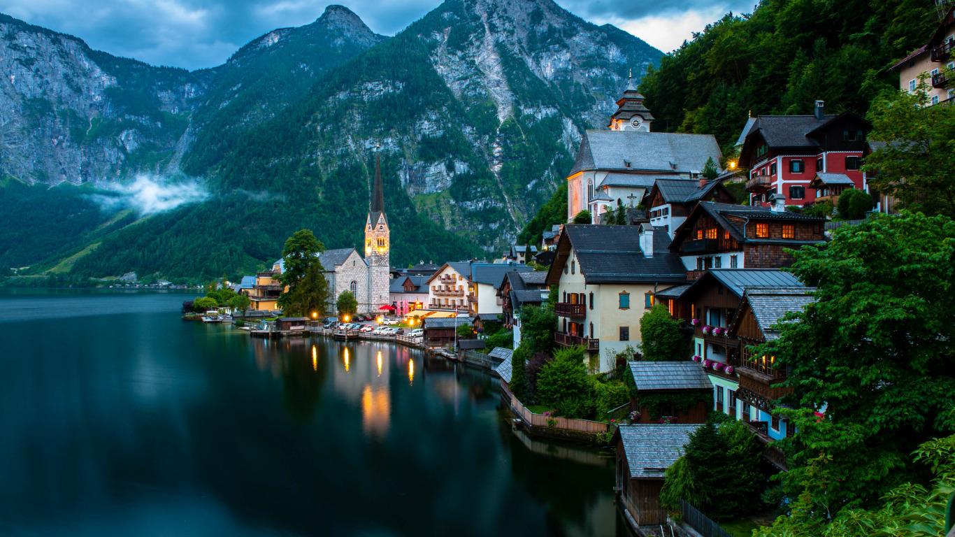 Salzkammergut, Austria  № 7858 бесплатно