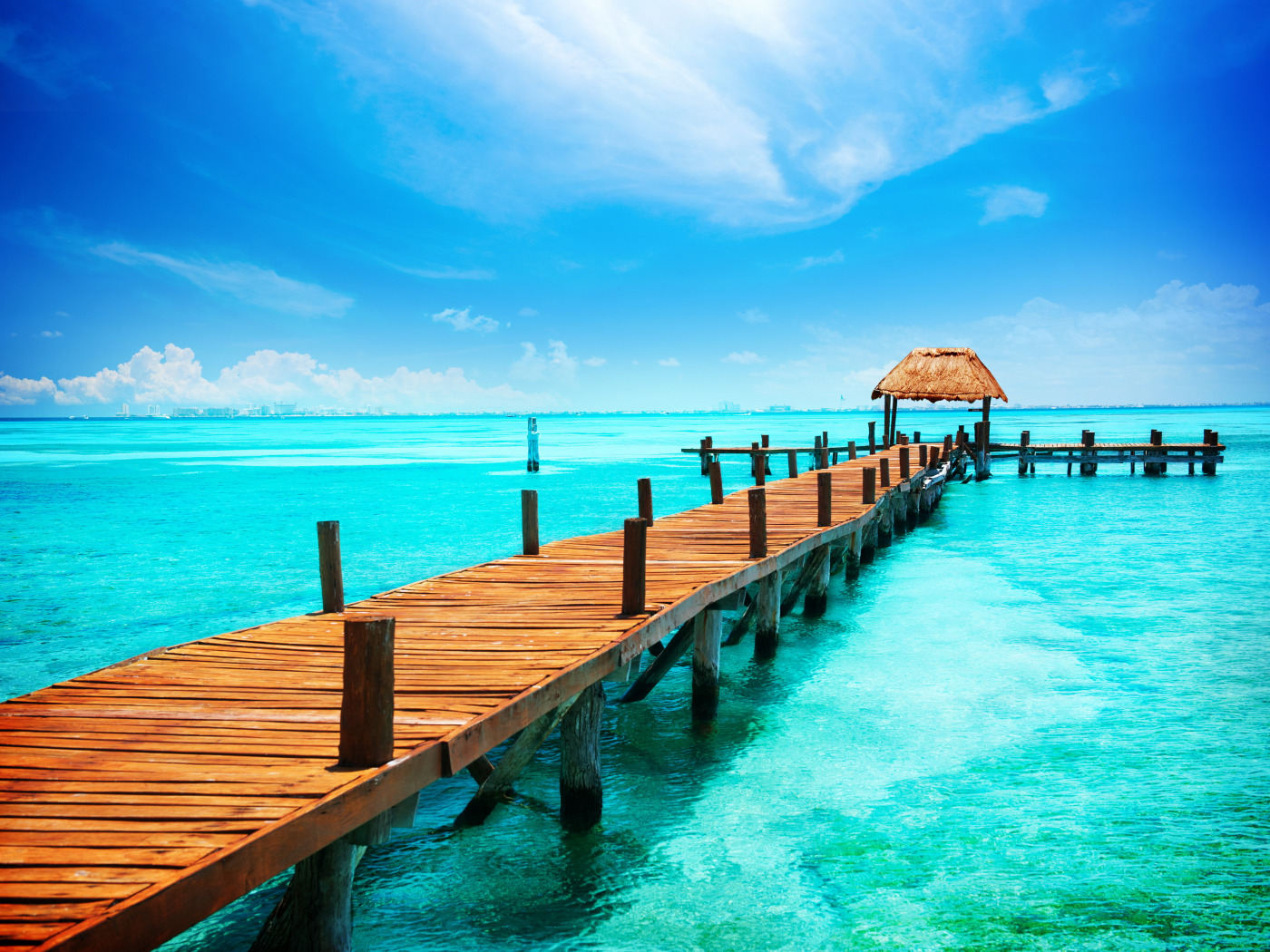 Pier To Paradise Wallpaper