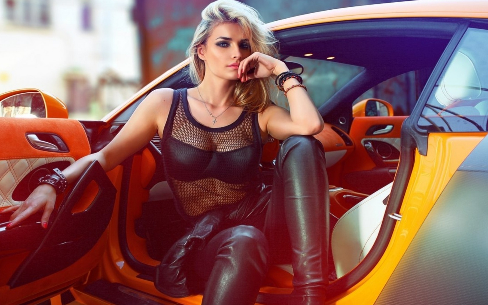 Sexy Girls And Cars Wallpaper Wallpapers