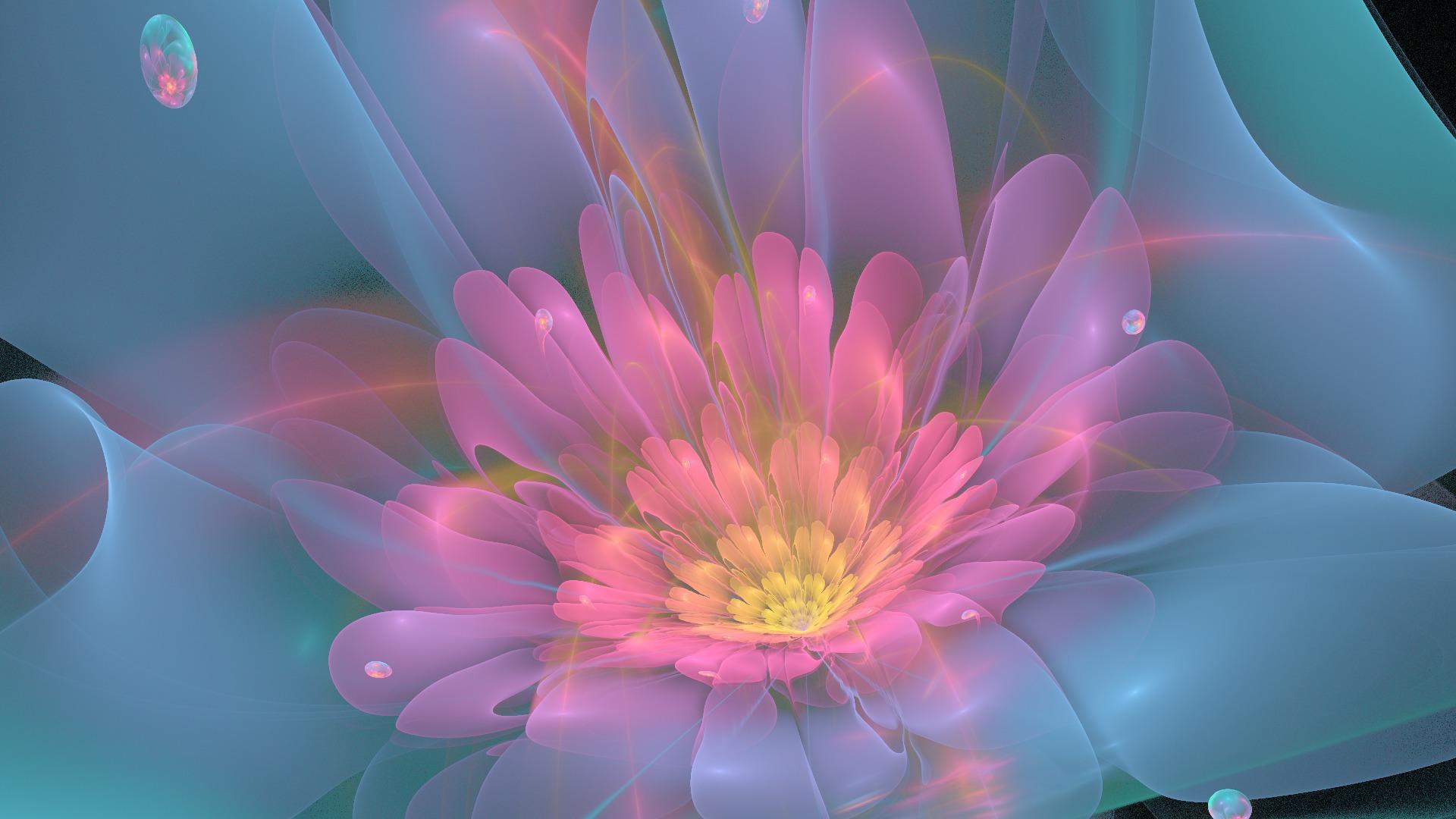 цветок сиреневый абстракция  № 3288279 без смс