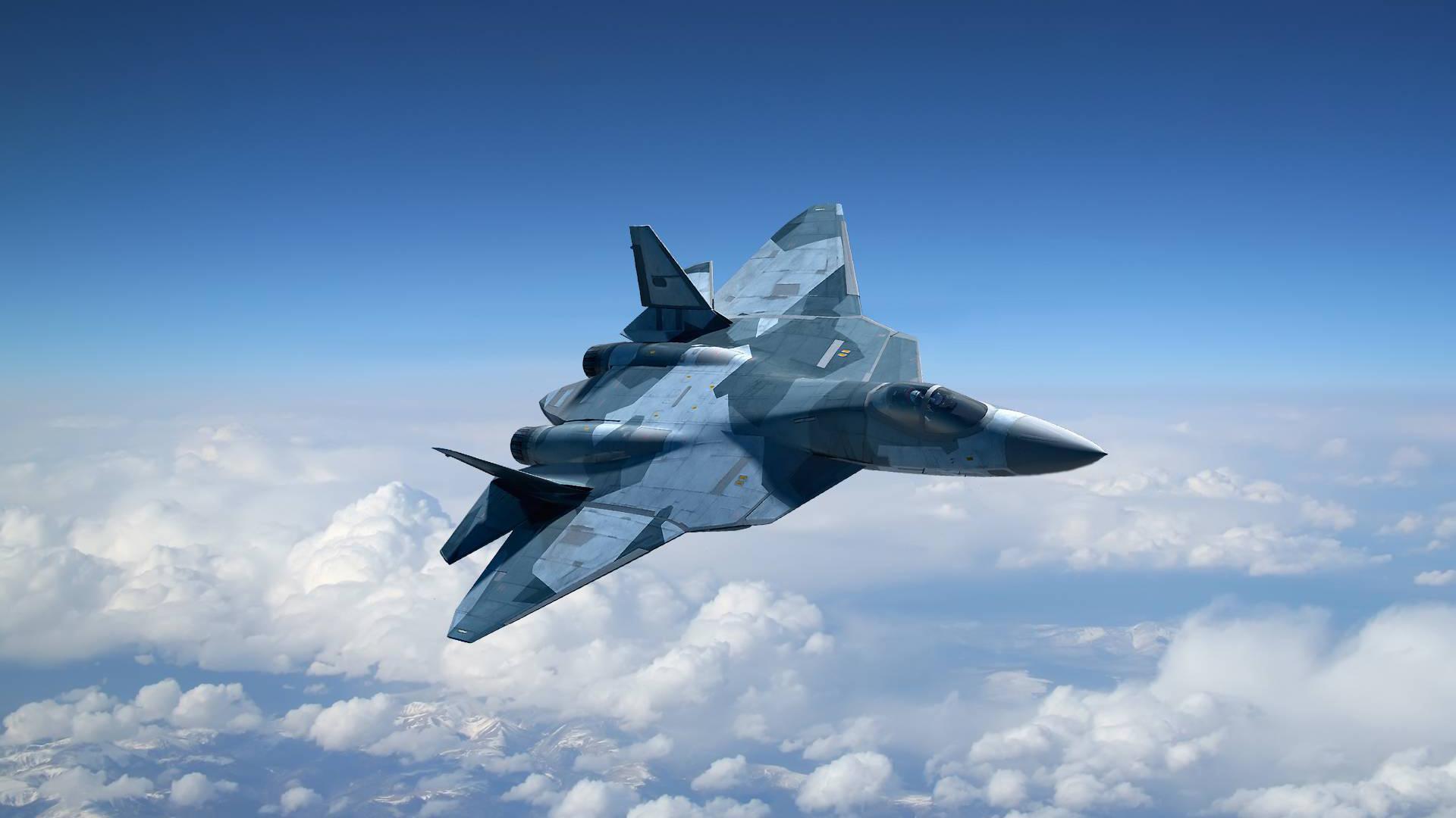 Российский самолет пятого поколения т пак фа , поставки которого в войска начнутся в наступившем году, не менее фантастичен, чем космические истребители из