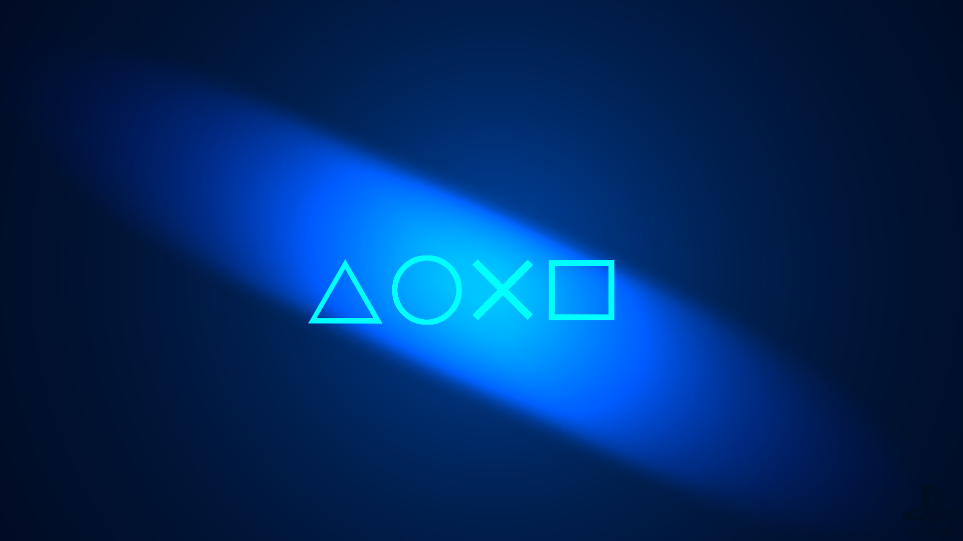 Download Wallpaper Round Sony Ps3 Cross Triangle Playstation