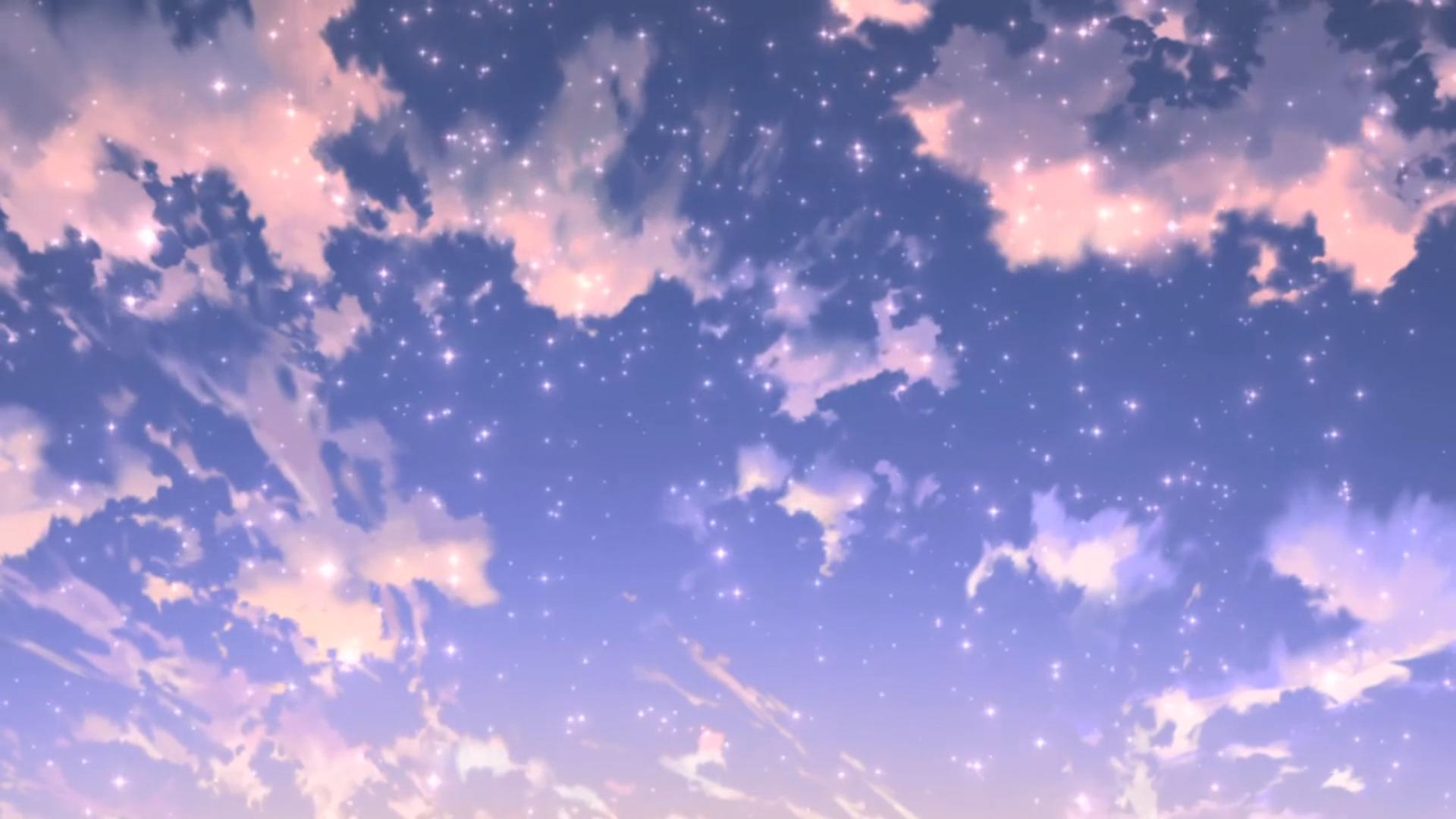 Небо анимация картинка, вышивка
