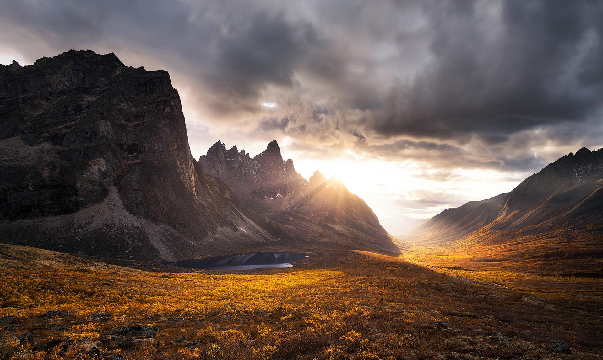 скалы горы закат  № 371326 бесплатно