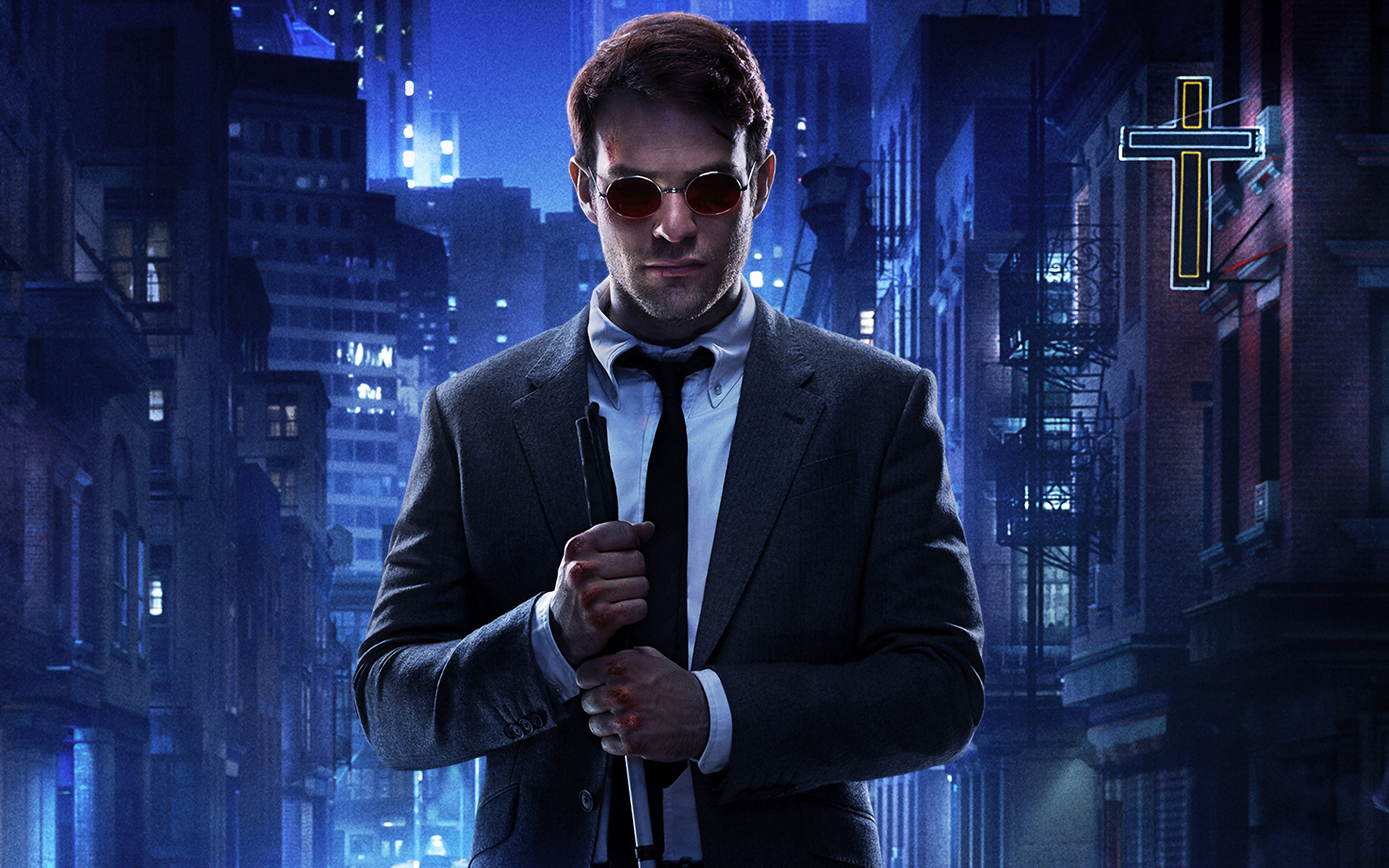 One of Marvel Comics most popular characters comes to the screen for the first time in this scifi actionthriller Matthew Murdock Ben Affleck is a lawyer whose