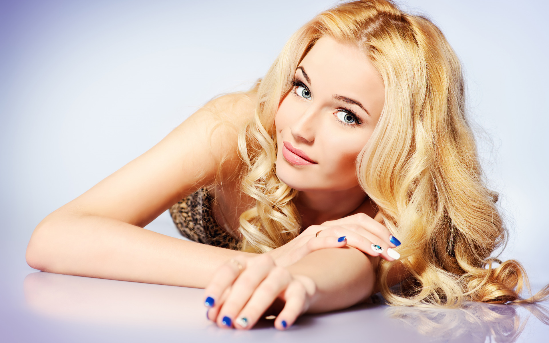 Портфолио блондинки девушек фото