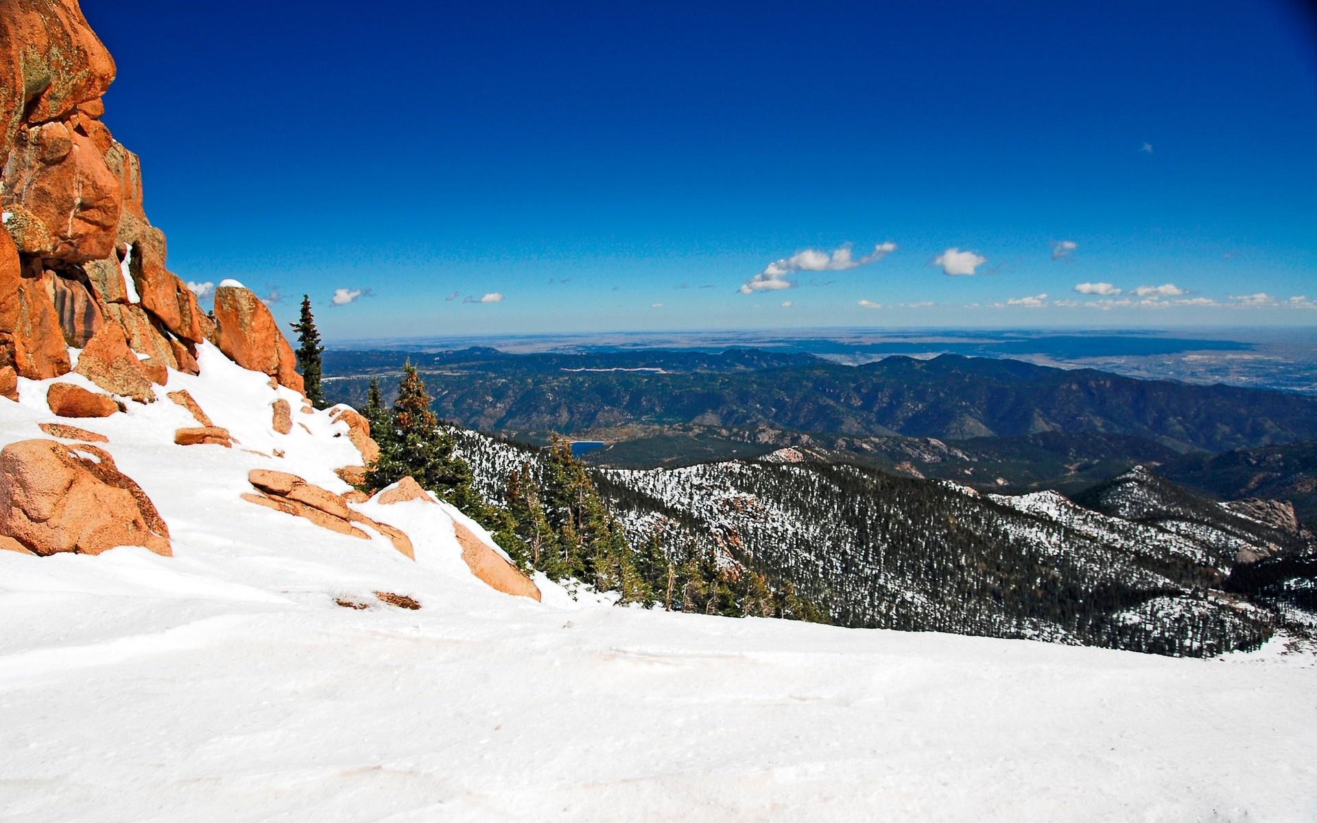 горы высота снег  № 385017 без смс