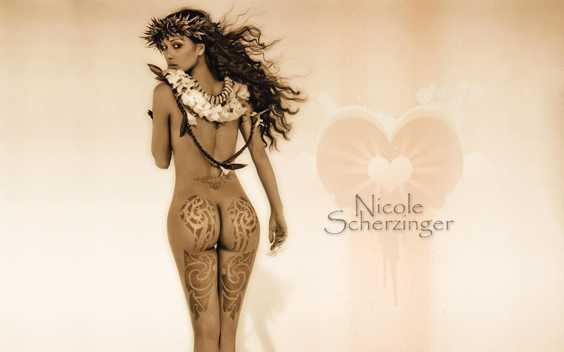 In the nude nicole scherzinger stuns