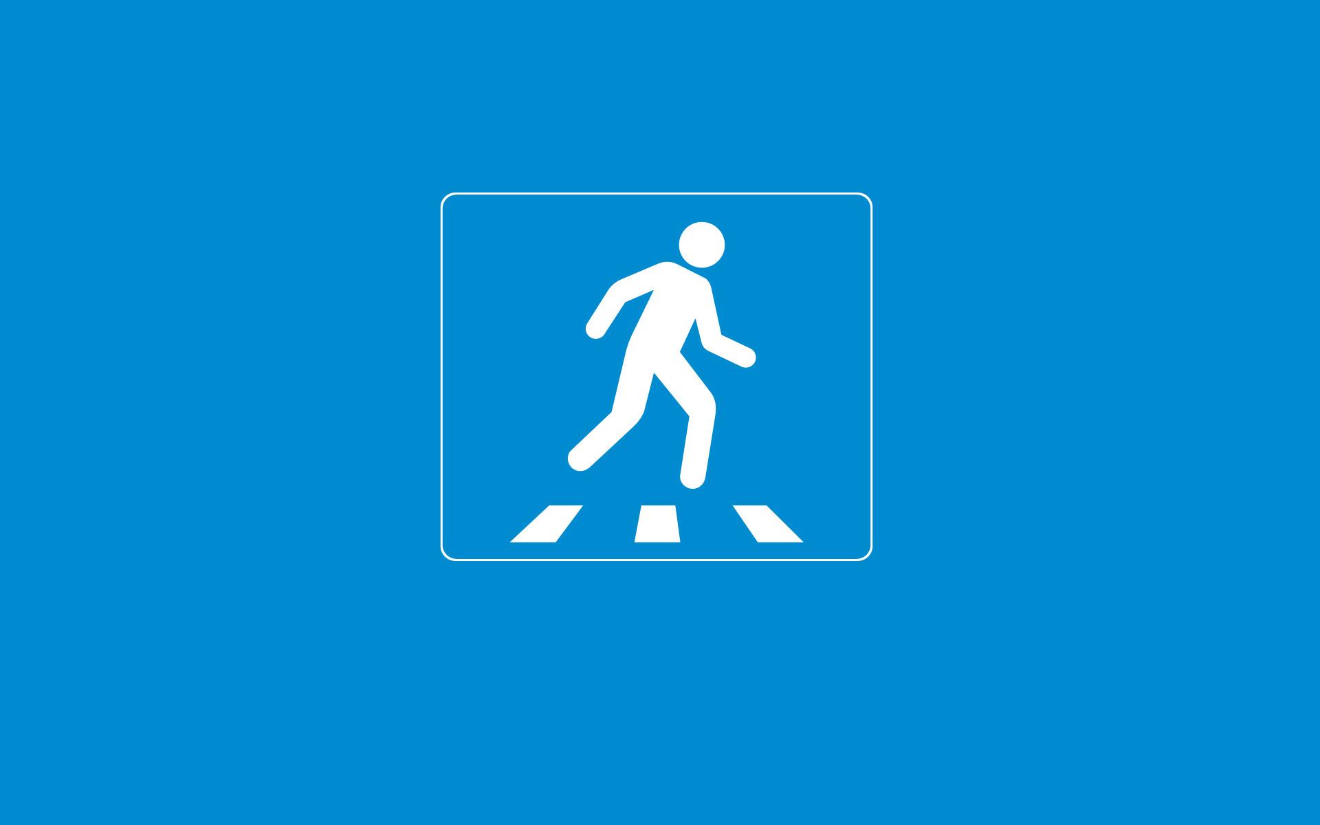 пешеходный переход красный свет  № 1504810  скачать
