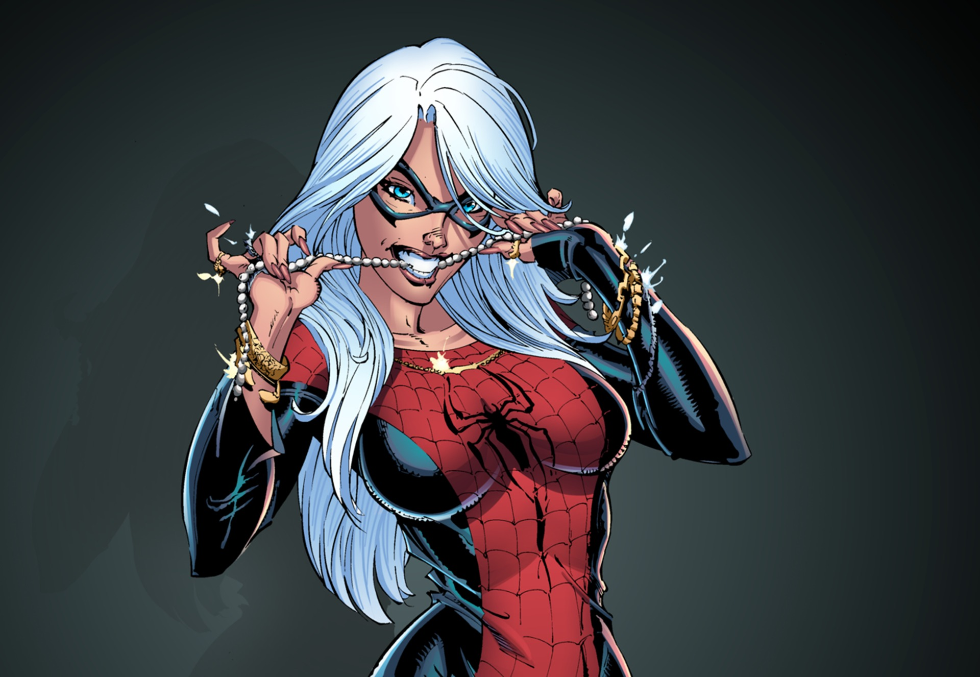 ... wallpaper save it. & Download wallpaper suit Spider-Man Black Cat Felicia Hardy ...