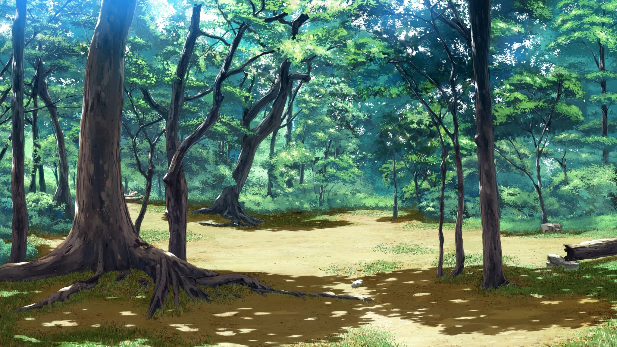 Image result for anime trees