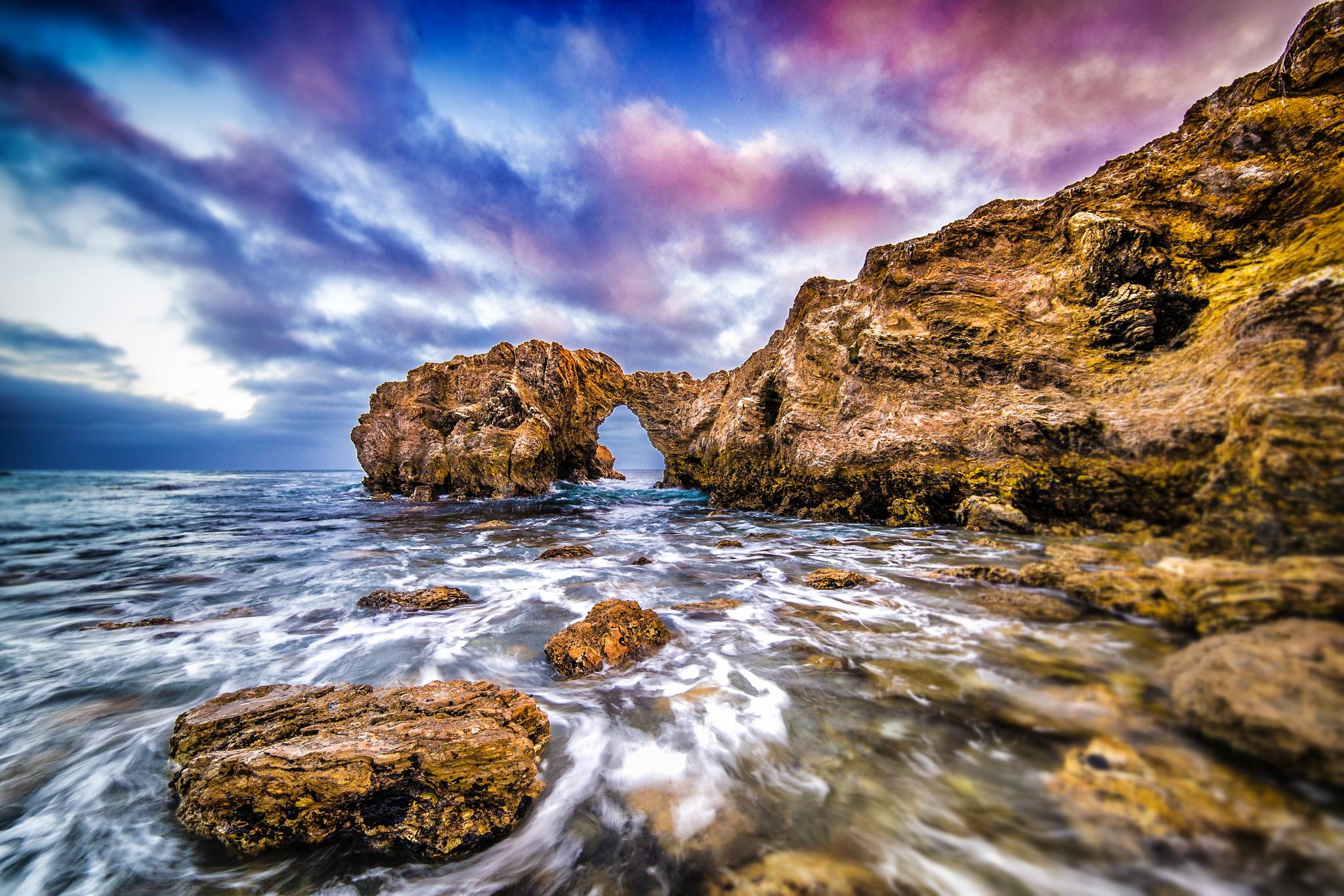 природа море скалы берег  № 2718593 без смс