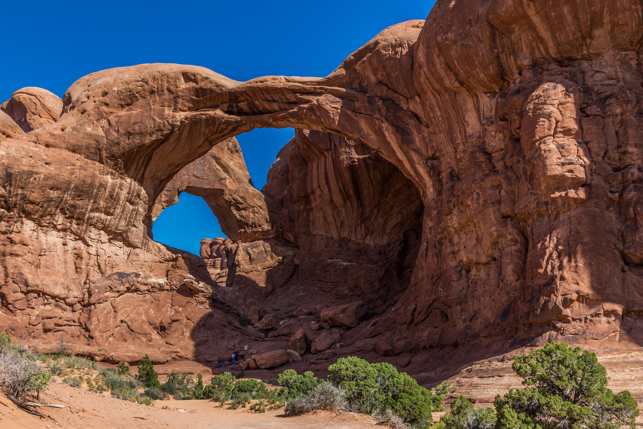 Double-O-Arch, арки, национальный, парк, США, штат, Юта  № 620080 без смс