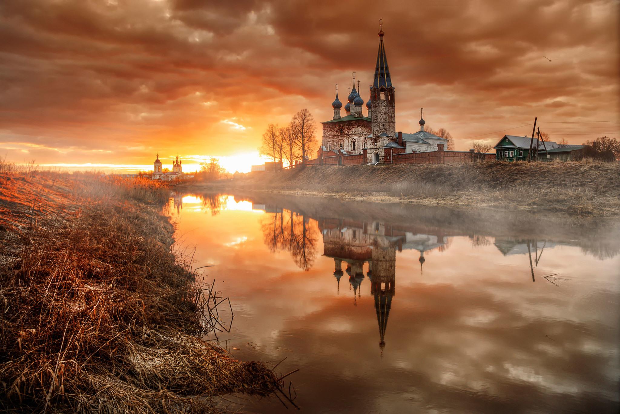 Обои для рабочего стола православные храмы россии