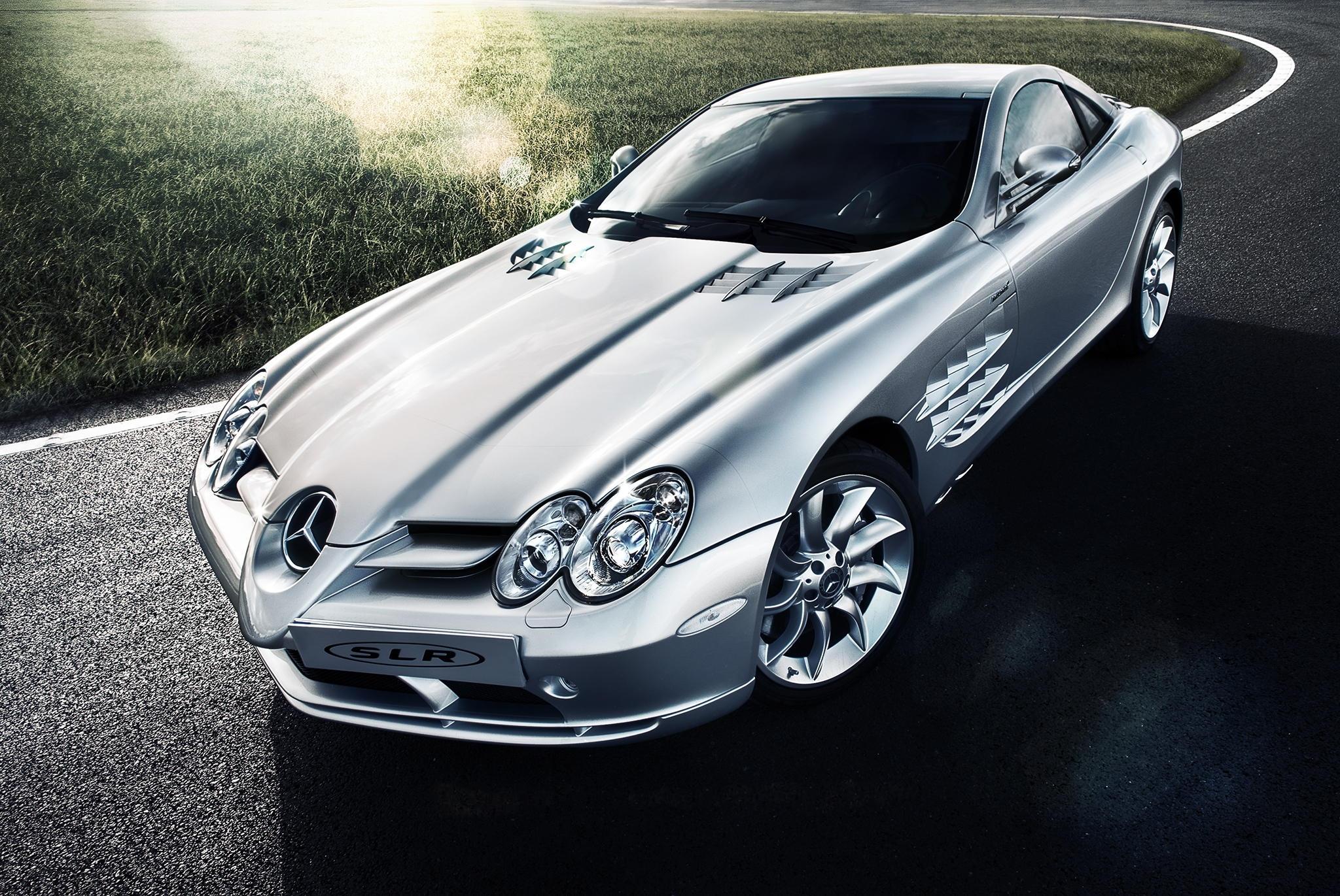 мерседес серебристый Mercedes silver  № 288002 без смс