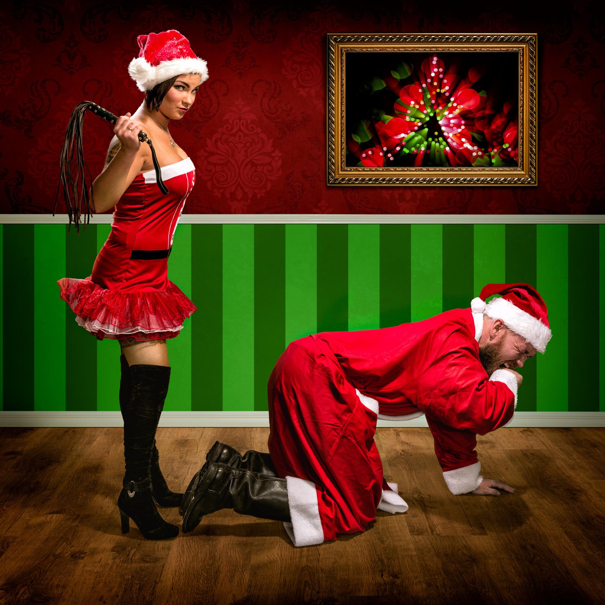 Naughty Christmas Card, Sexy Rude Adult Funny Humorous
