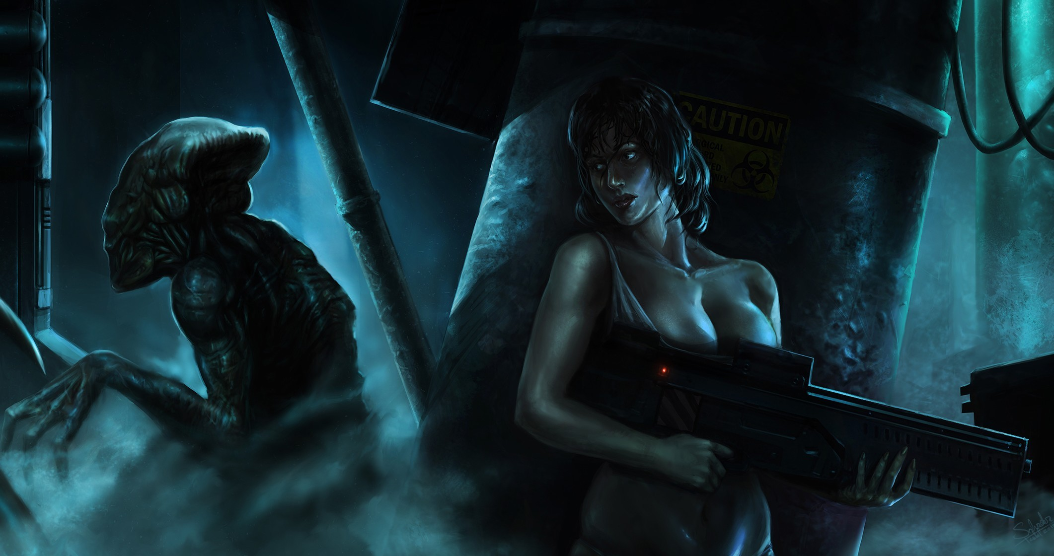 Monster vs alien girls sex wallpaper nude video