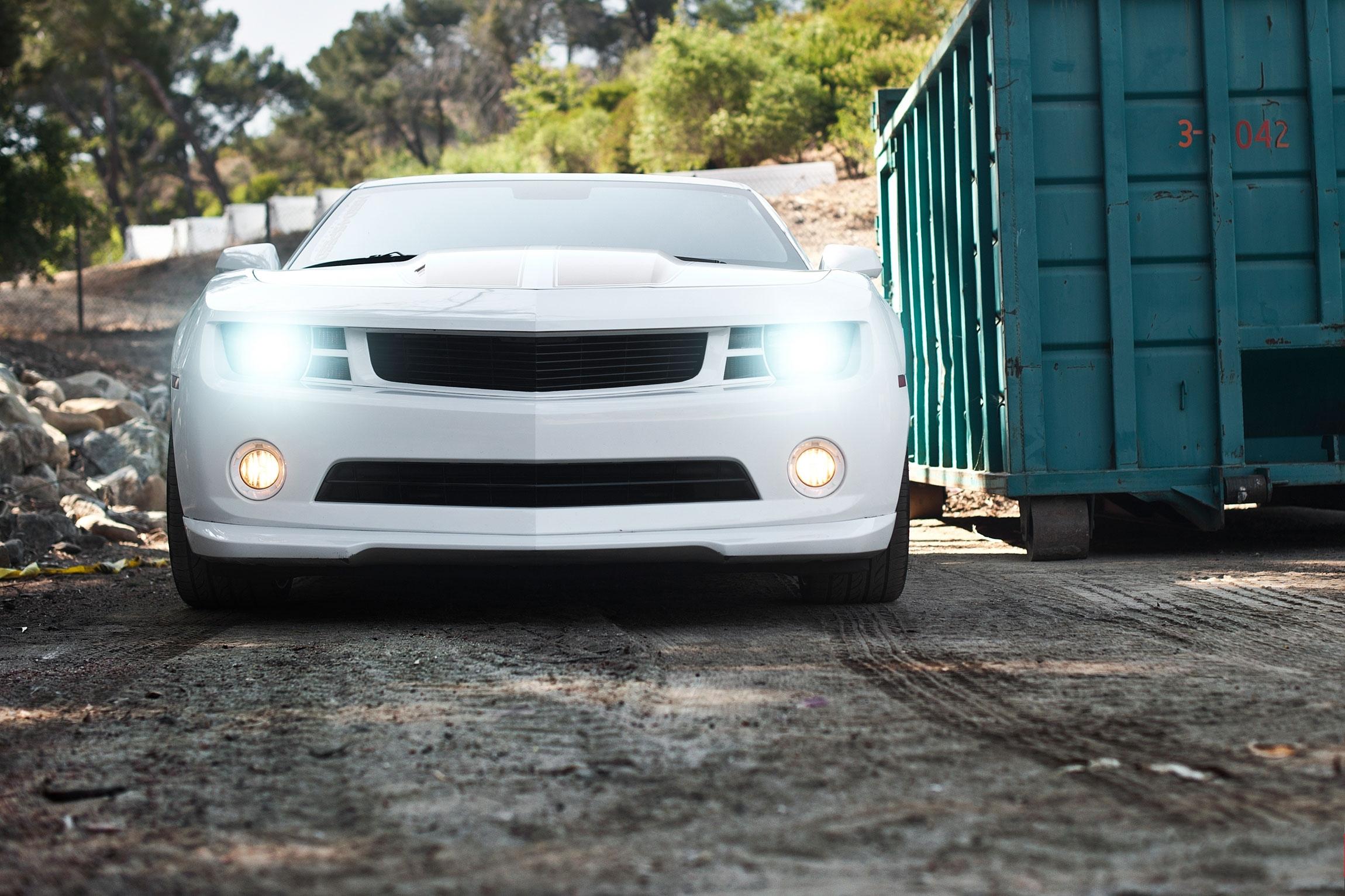 Chevrolet Camaro Белый  № 3022670 загрузить
