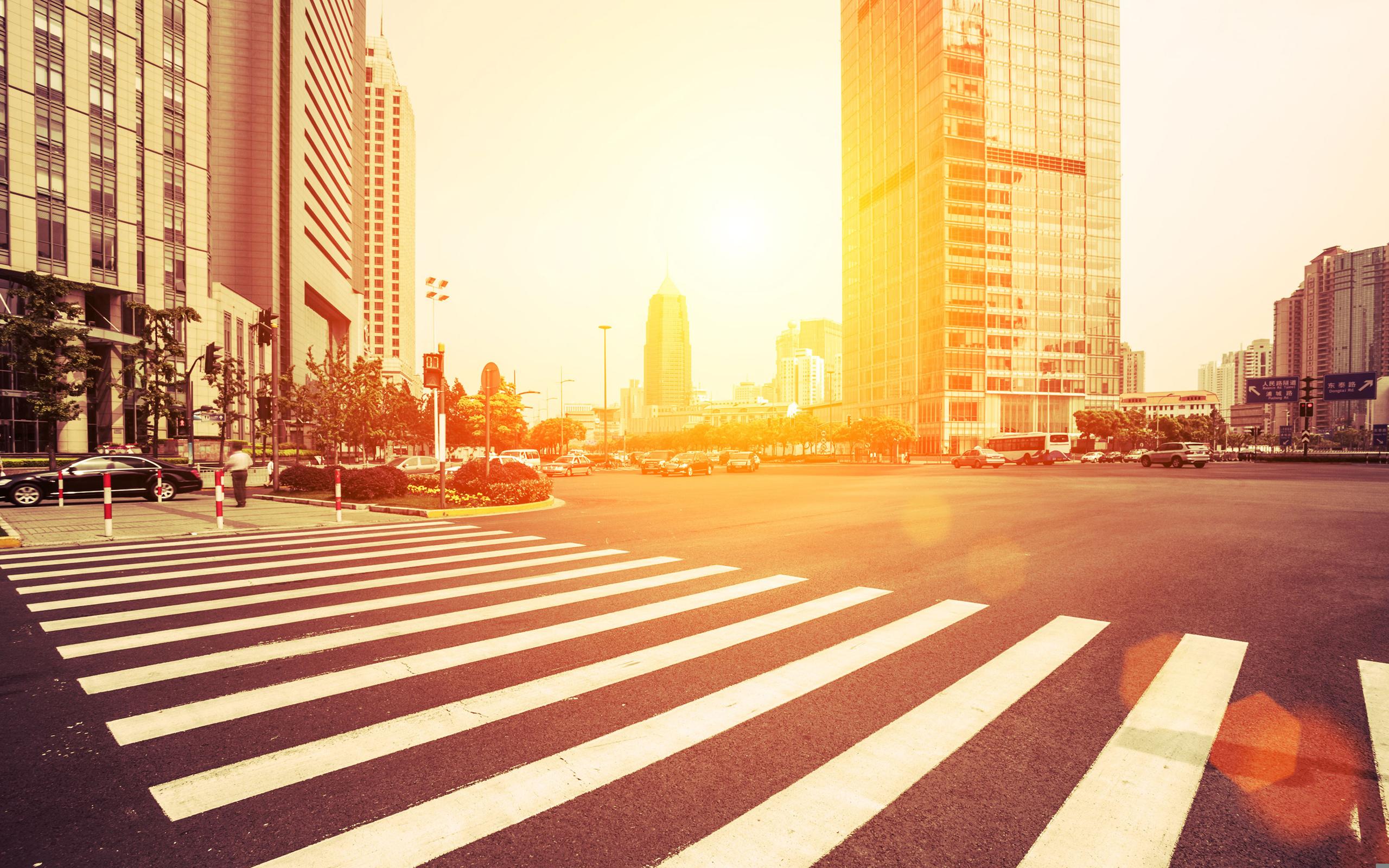 пешеходный переход красный свет  № 1504866 загрузить