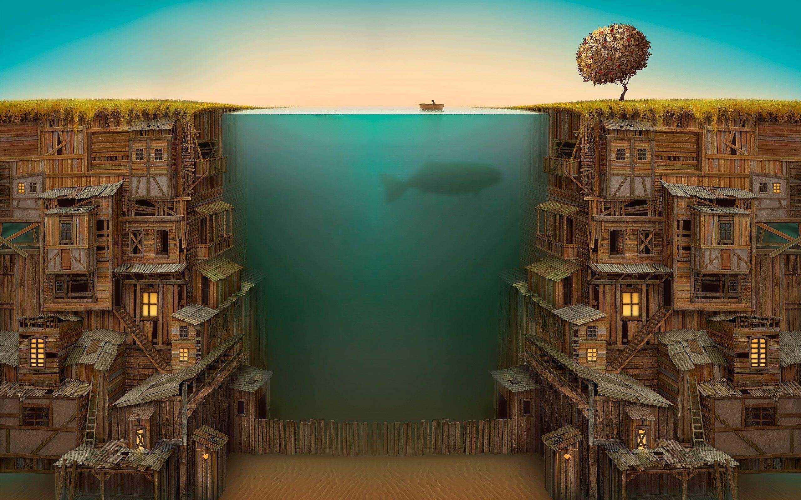 Графика под водой  № 2252476  скачать