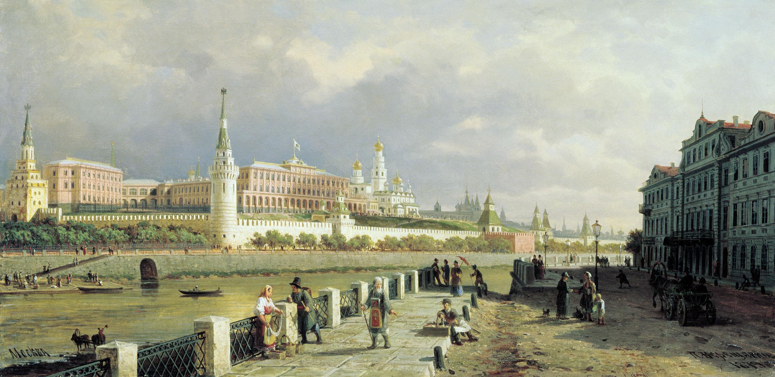 История москвы в картинках, летием