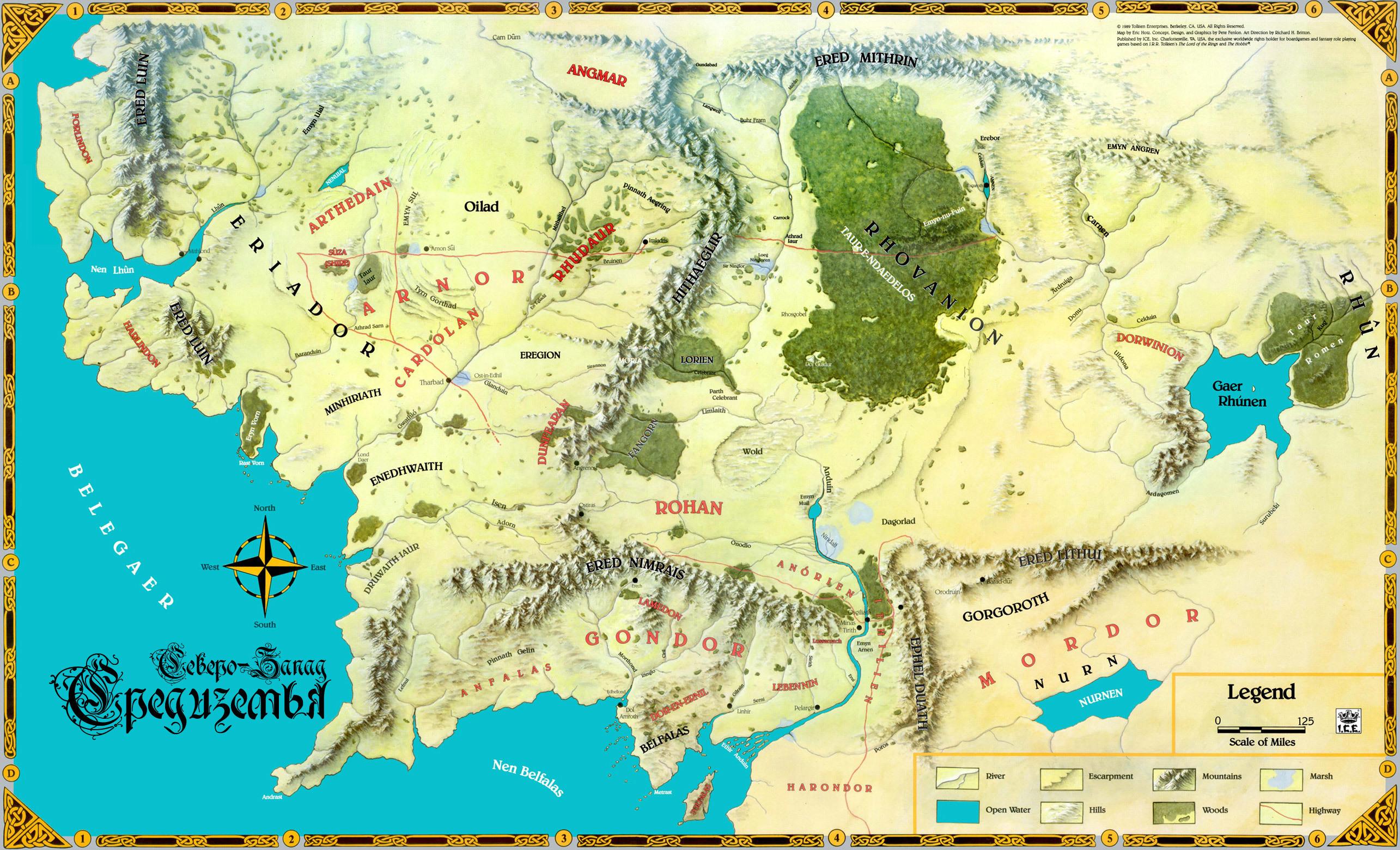 Karta Berkeley California.Download Wallpaper Map John R R Tolkien The Lord Of The Rings