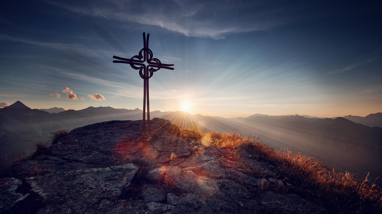 К чему во сне показали крест на закате