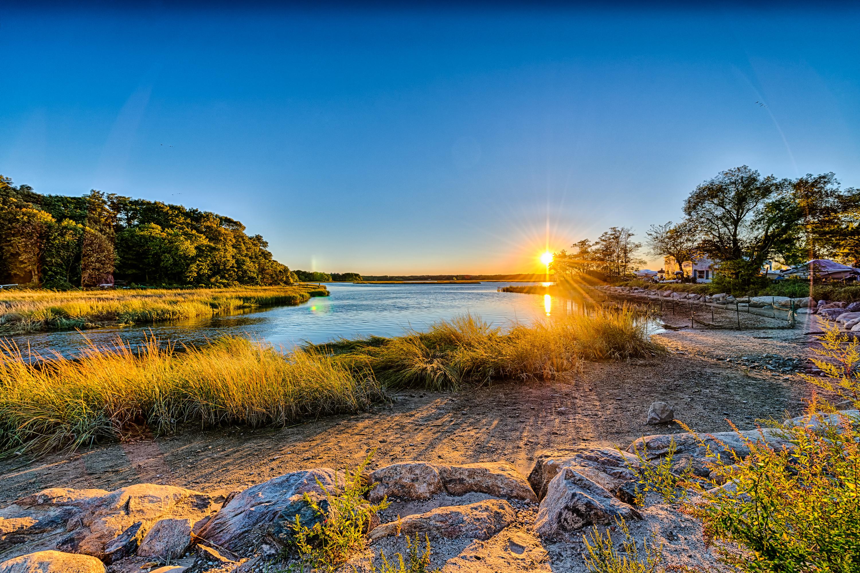 природа река солнце деревья  № 198664 бесплатно