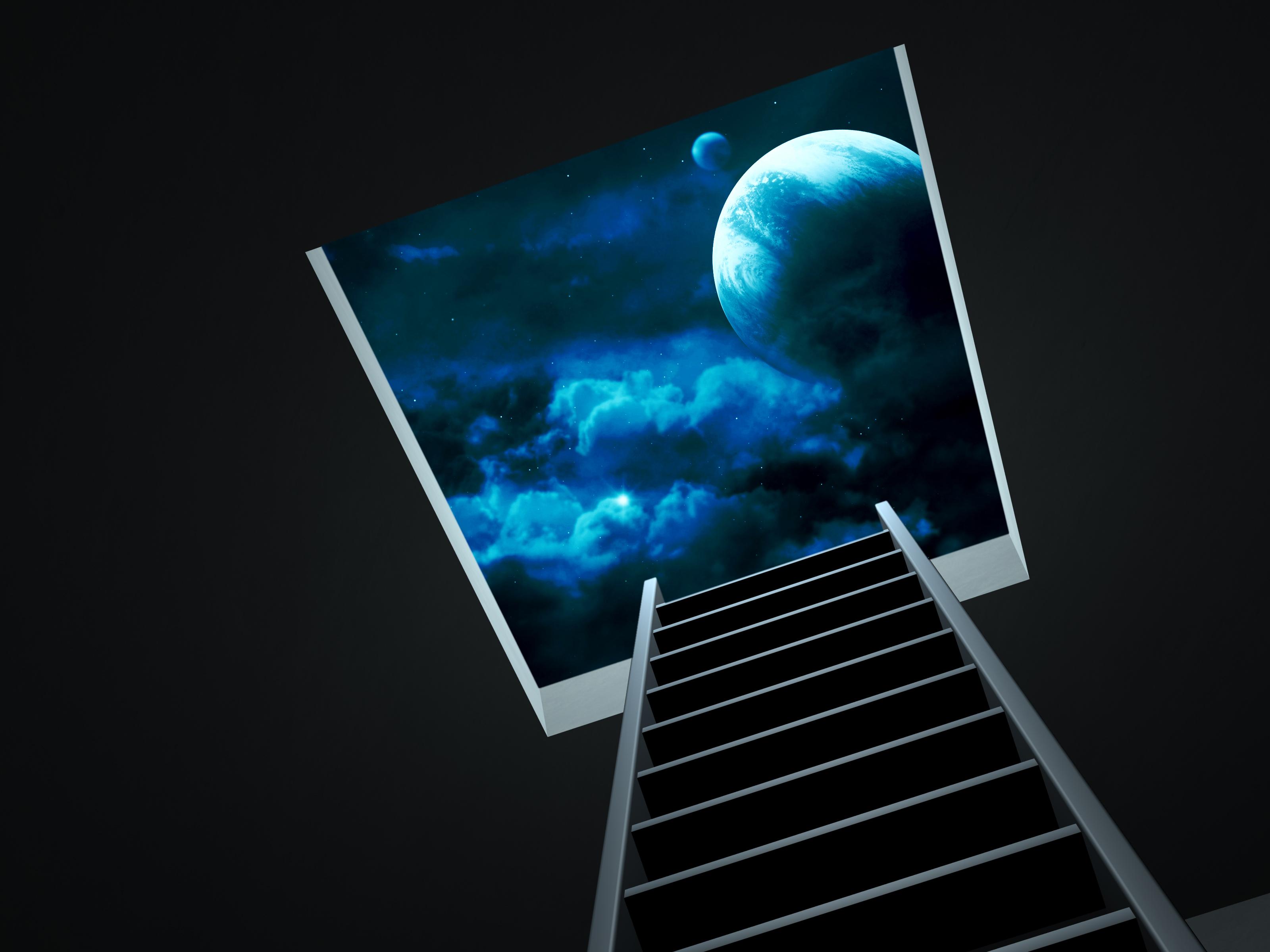Обои на рабочий стол лестница в небеса