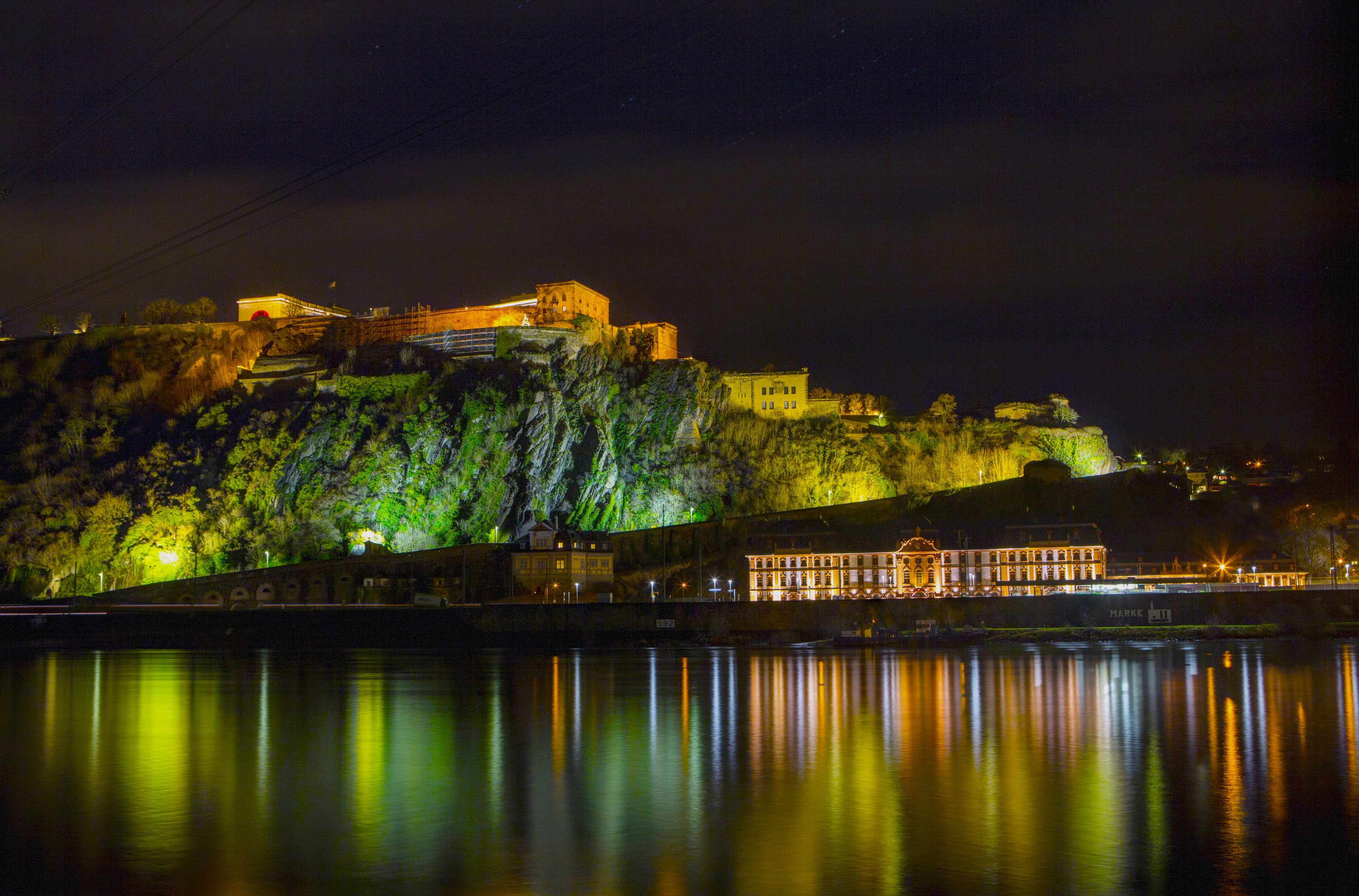 Download Wallpaper Germany Night Photo Home Koblenz