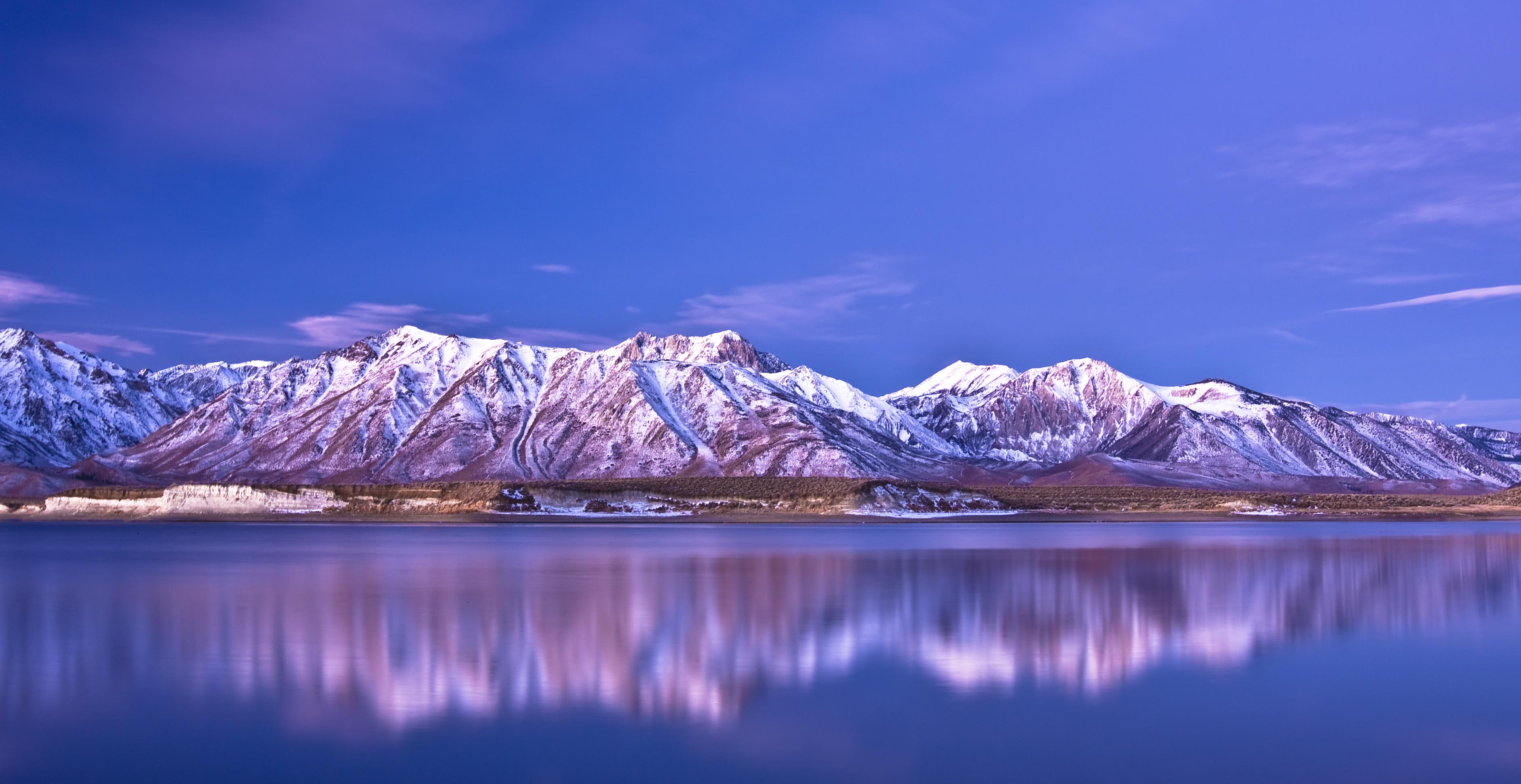 озеро горы снег  № 2476801 без смс