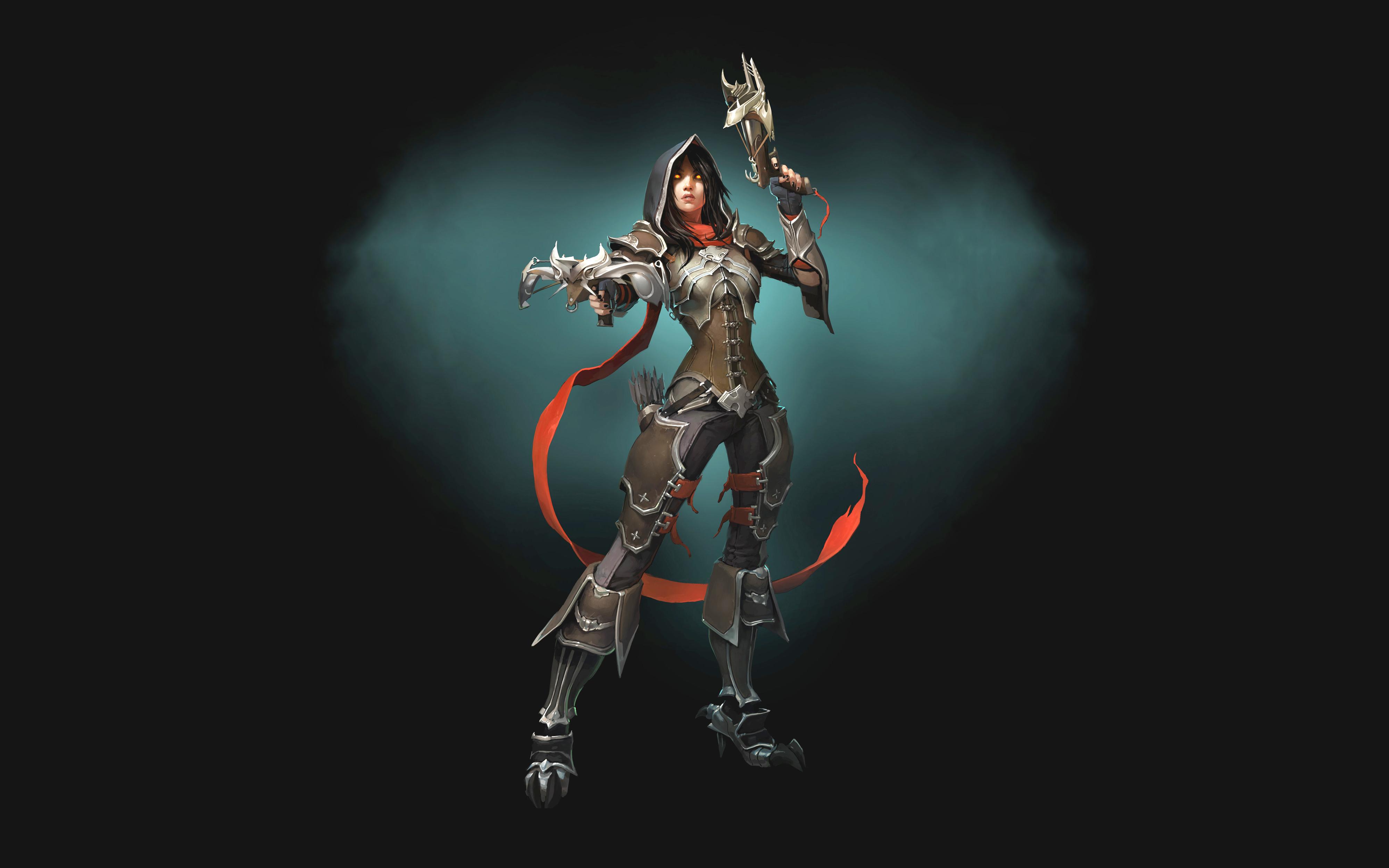 Demon Hunter Diablo 3  № 1892501 бесплатно