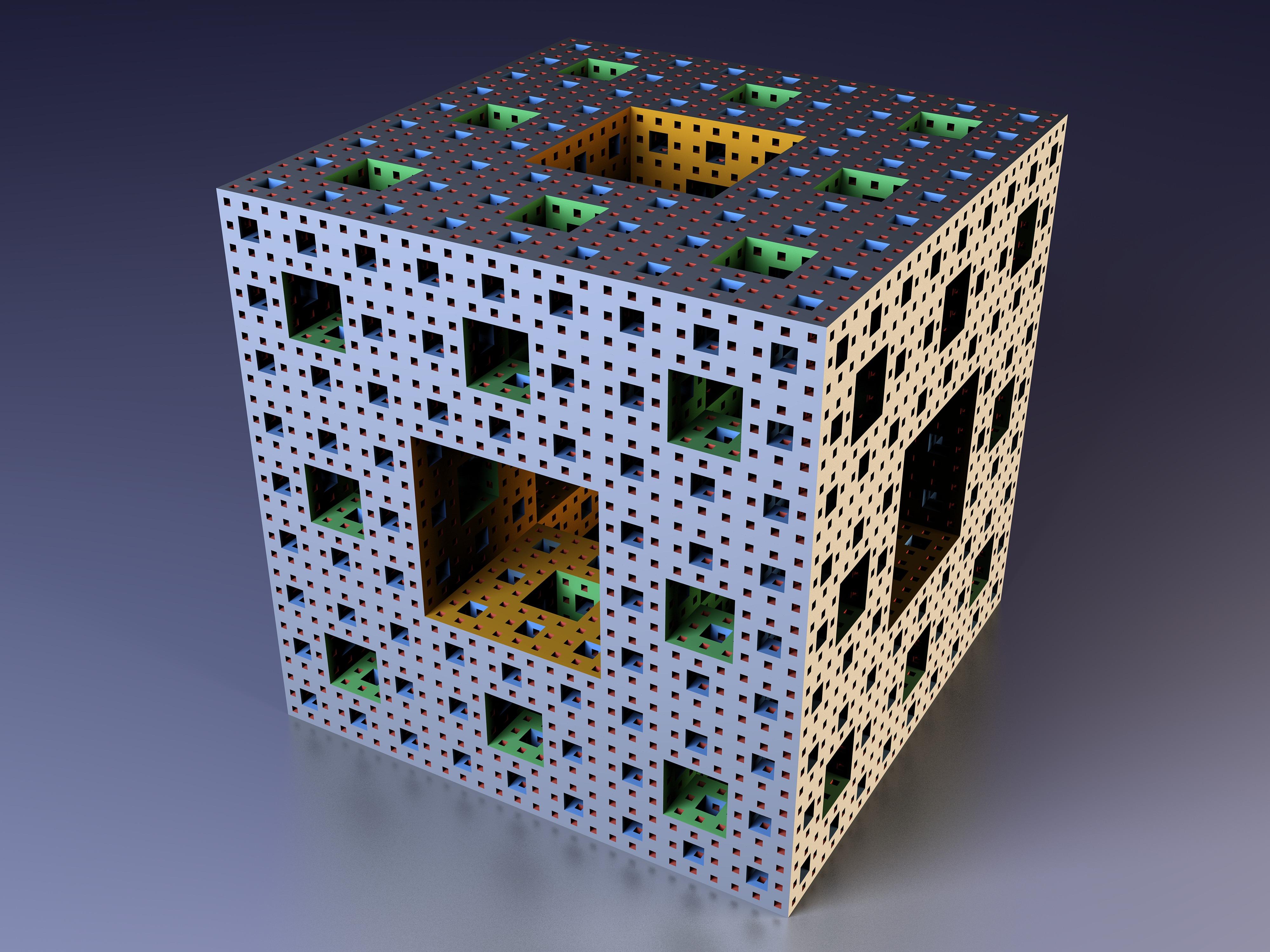 графика 3D кубы цветы graphics Cuba flowers  № 3739357  скачать