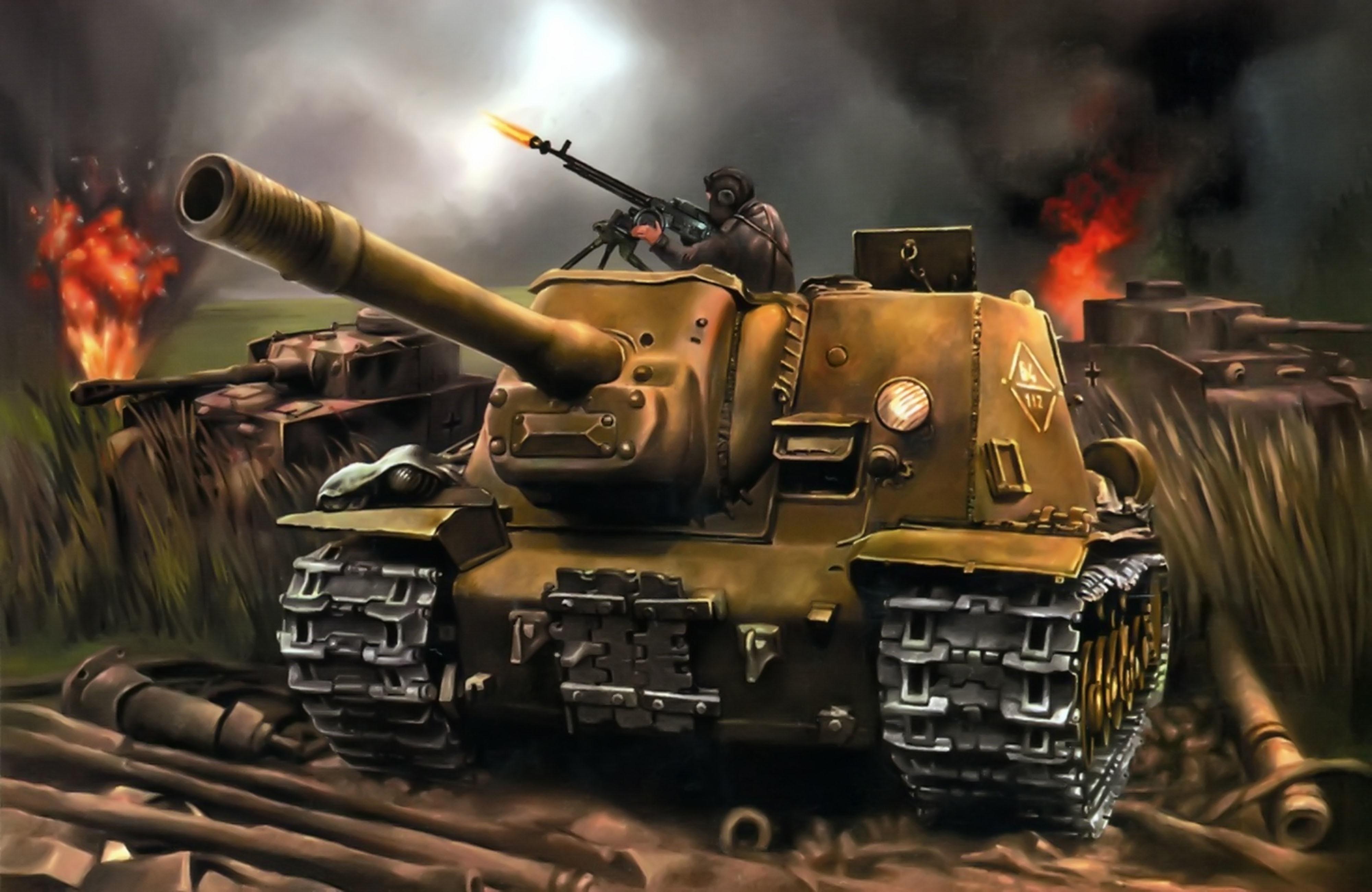 Стена картинки танков