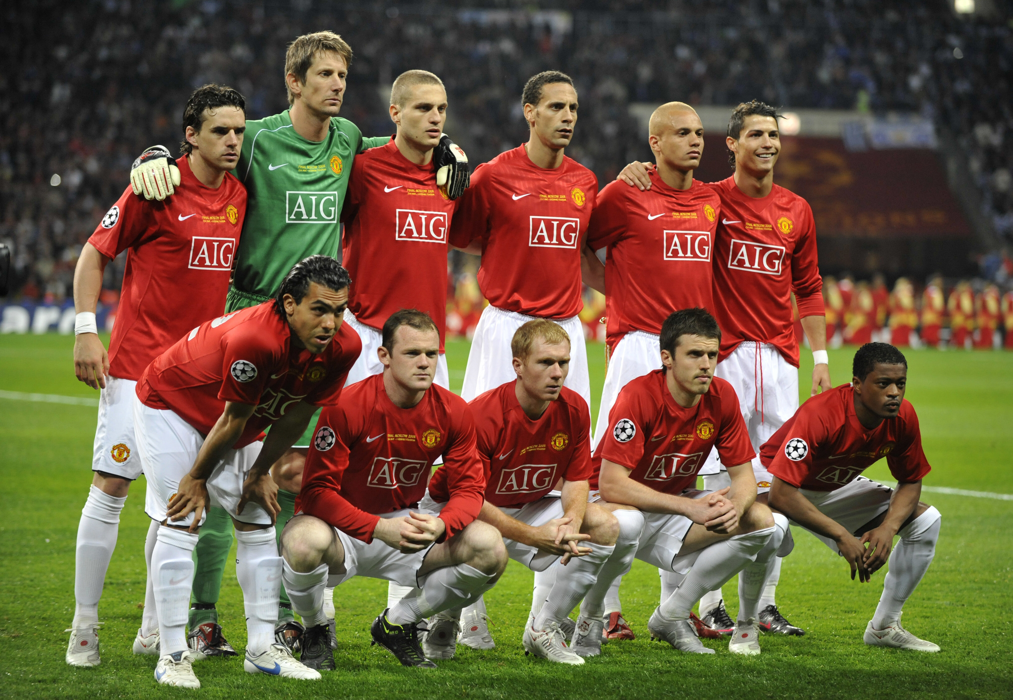 Download wallpaper rooney, cristiano ronaldo, Manchester United, old ...