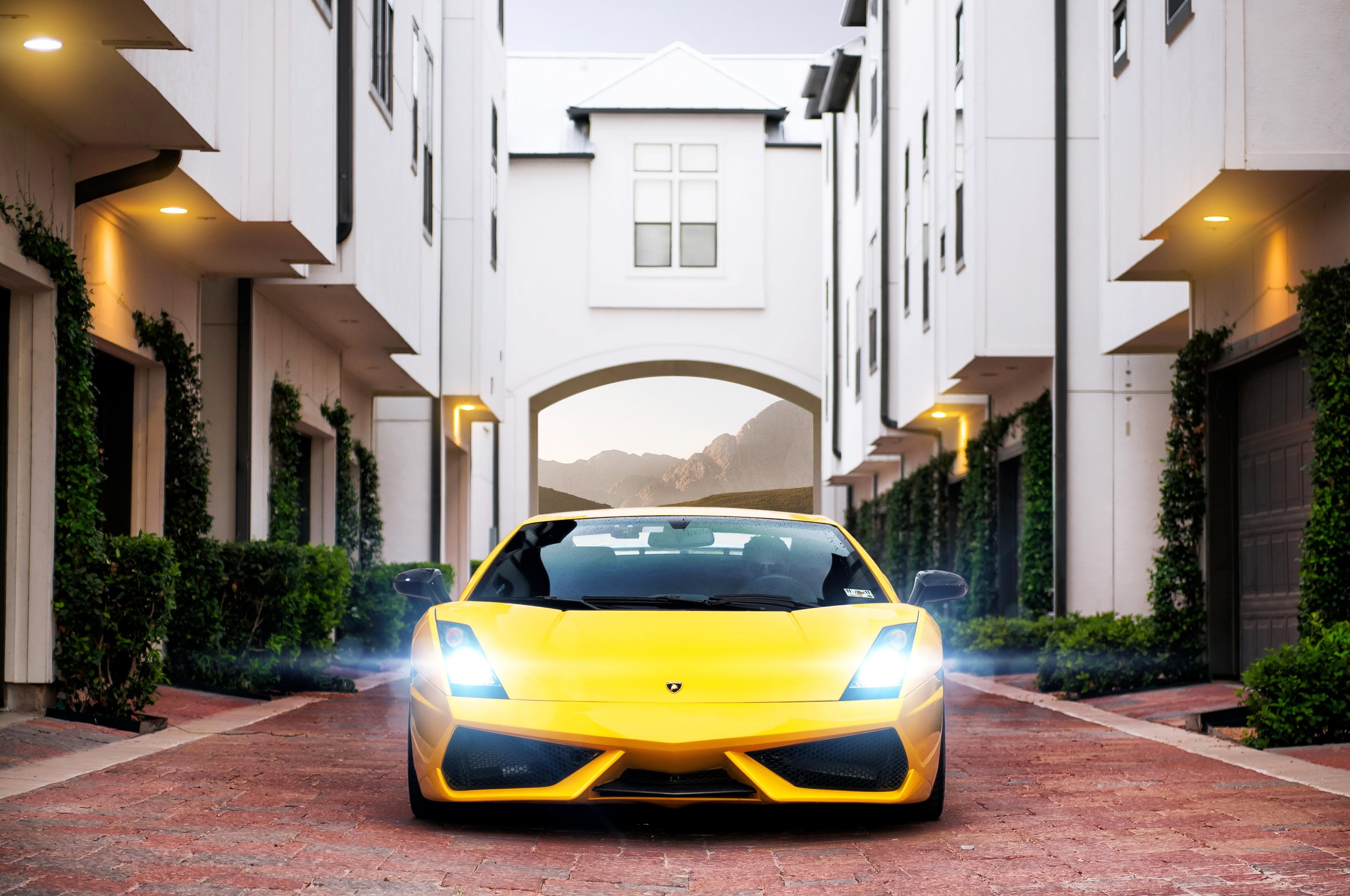 автомобиль желтый car yellow  № 547032 загрузить