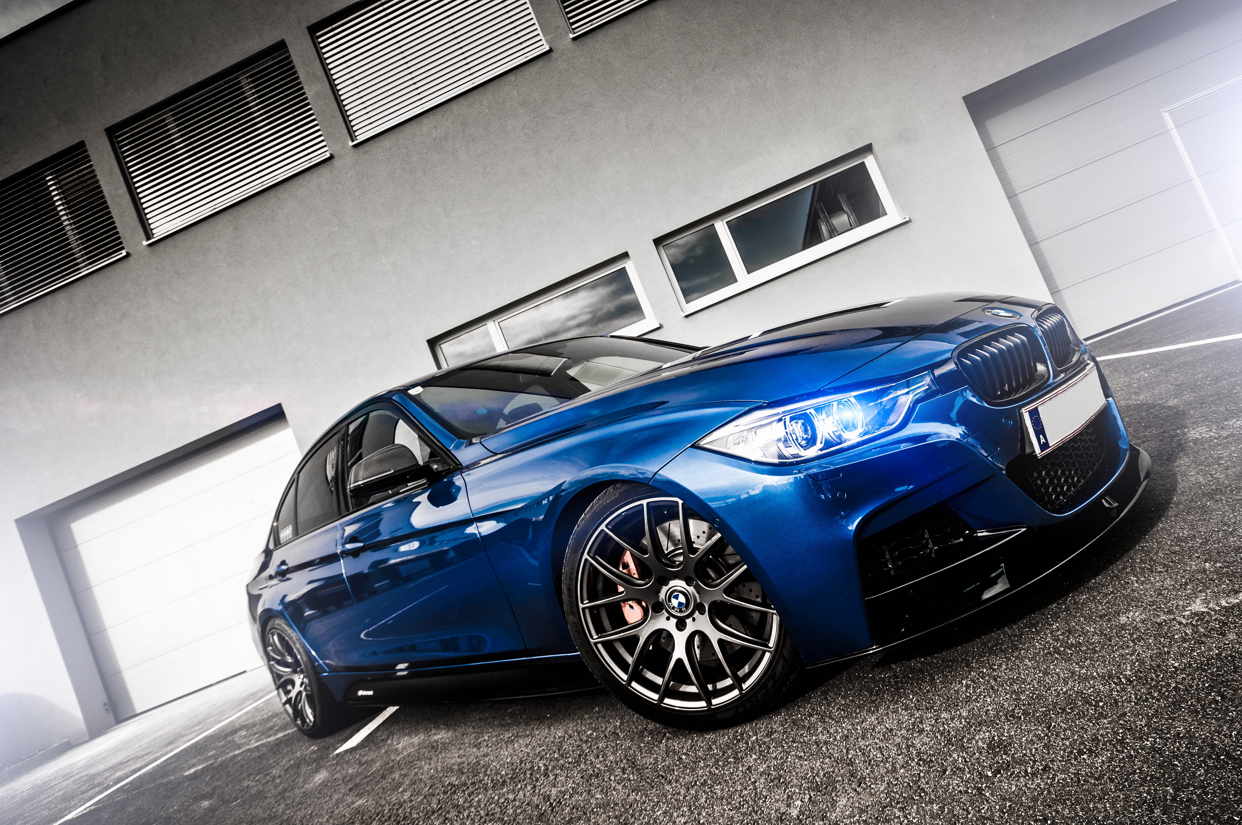 синий автомобиль BMW blue car  № 215734 без смс
