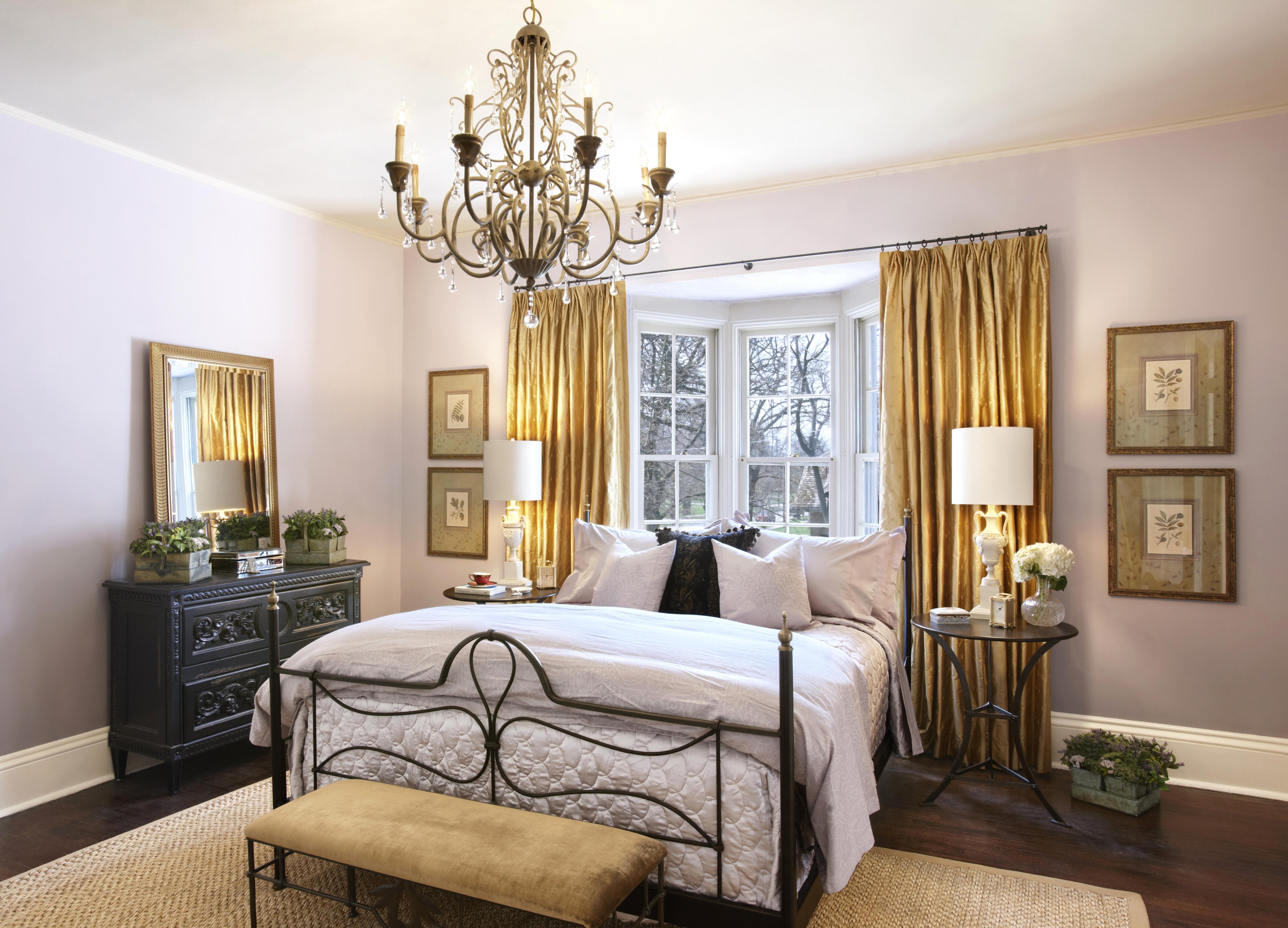 Интерьер спальня комната кровать  № 3537204 без смс