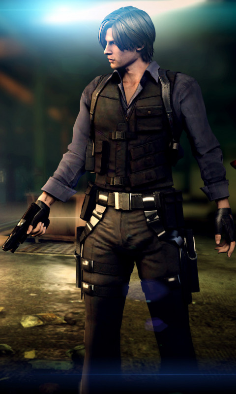 Download Wallpaper Biohazard Resident Evil Ada Wong Leon