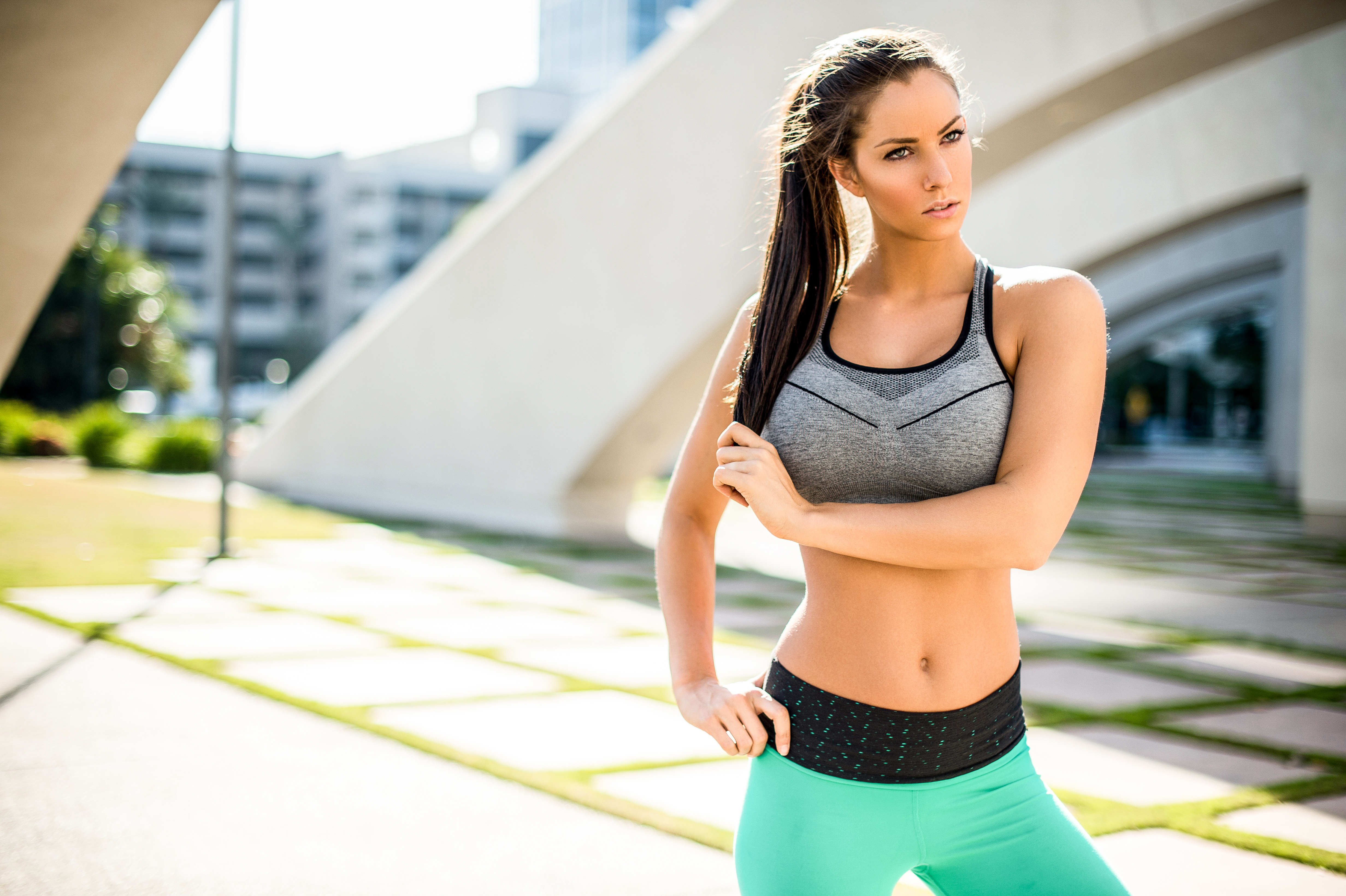 Hot girl sport