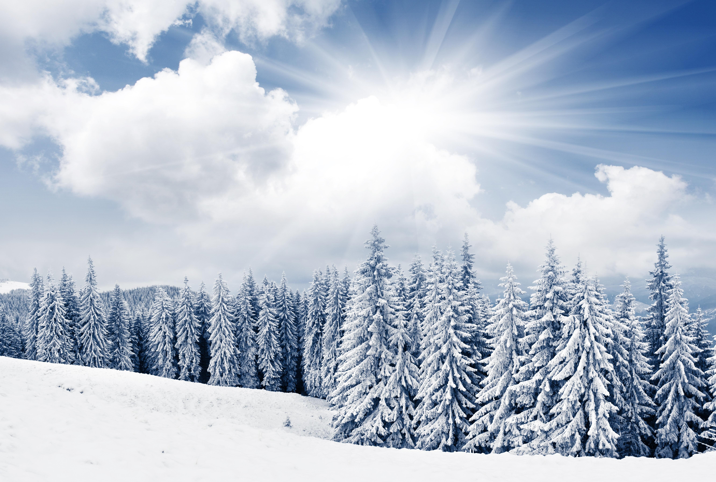 безоблачное небо зимой  № 2469653 без смс
