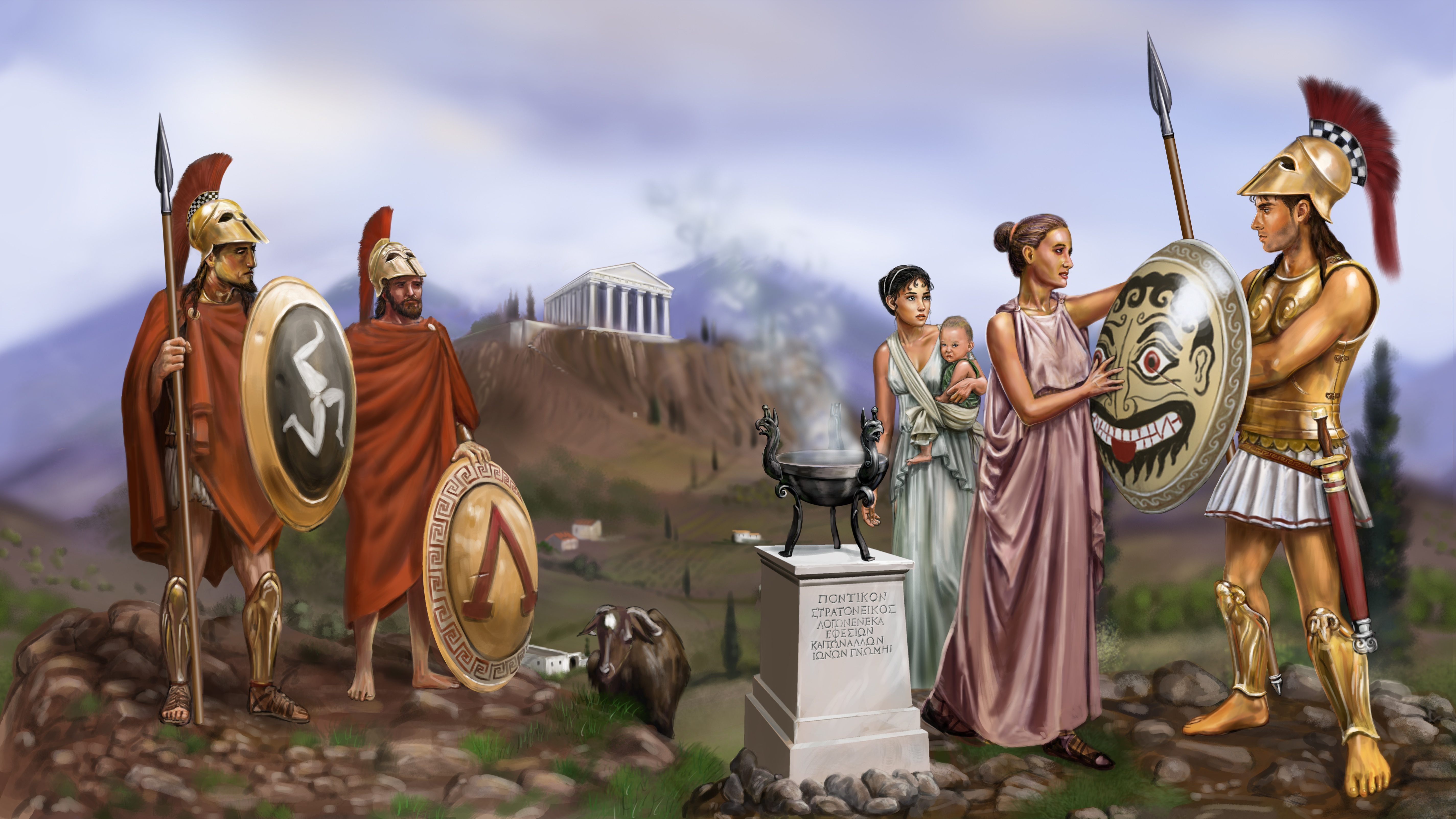 ancient spartan technology Exhibitions' categories discover that the technology of the ancient greeks, just before the end of the ancient world, was shockingly similar to the beginning of our modern technology.