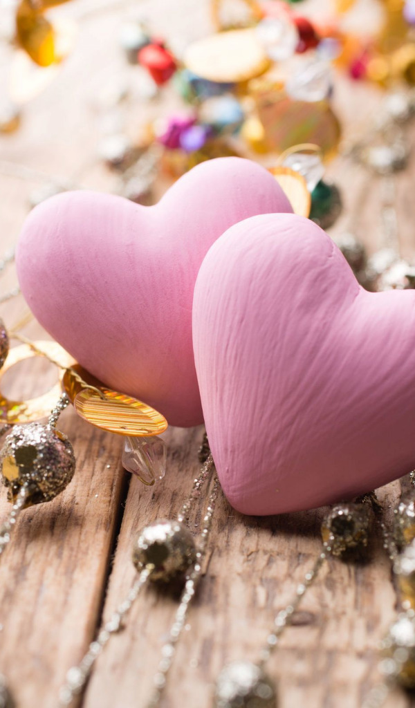Download Wallpaper Decoration Love Background Pink Widescreen