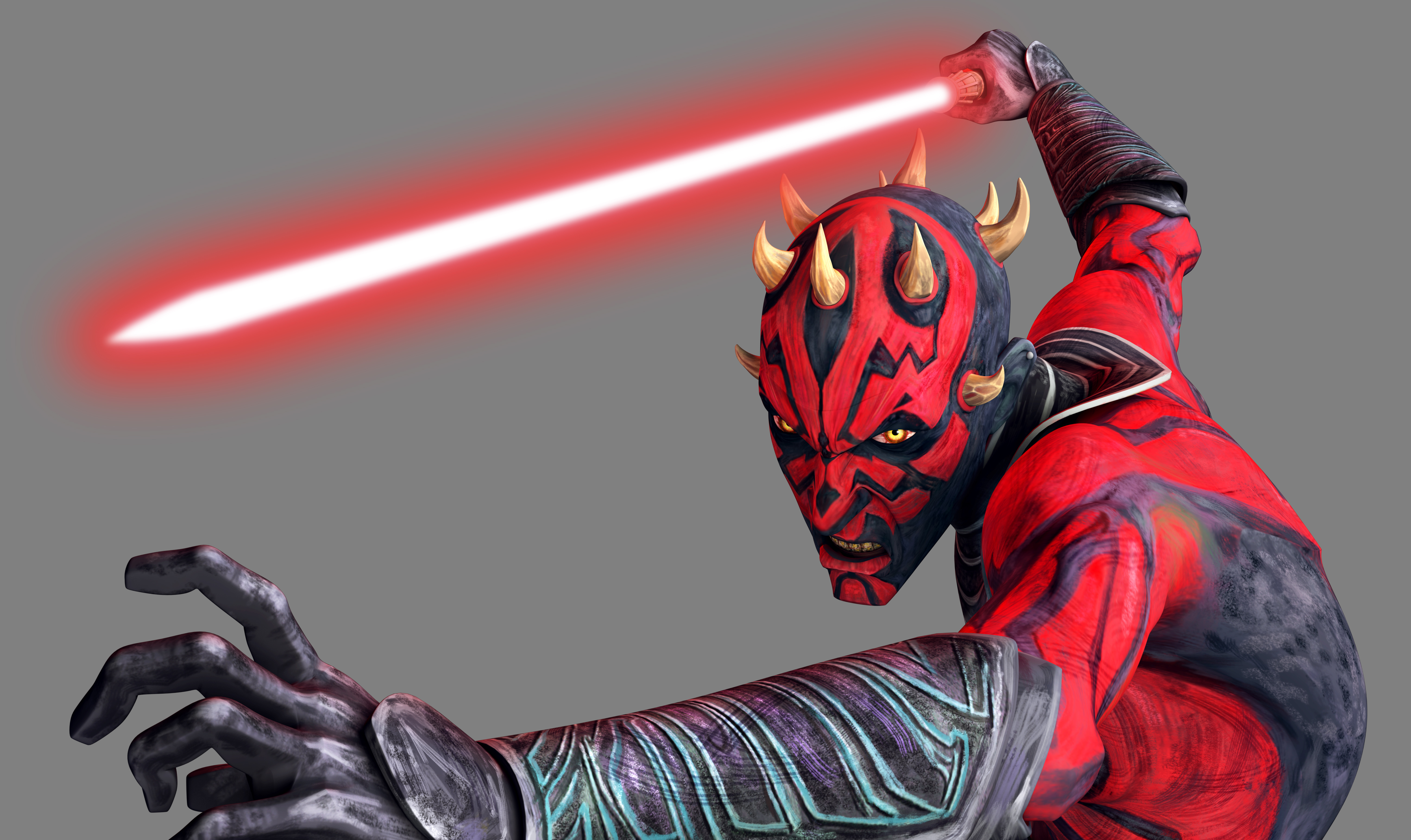 Darth Maul was a male Dathomirian Zabrak Dark Lord of the Sith who lived during the waning years of the Galactic Republic Originally a Dathomiri Nightbrother born on