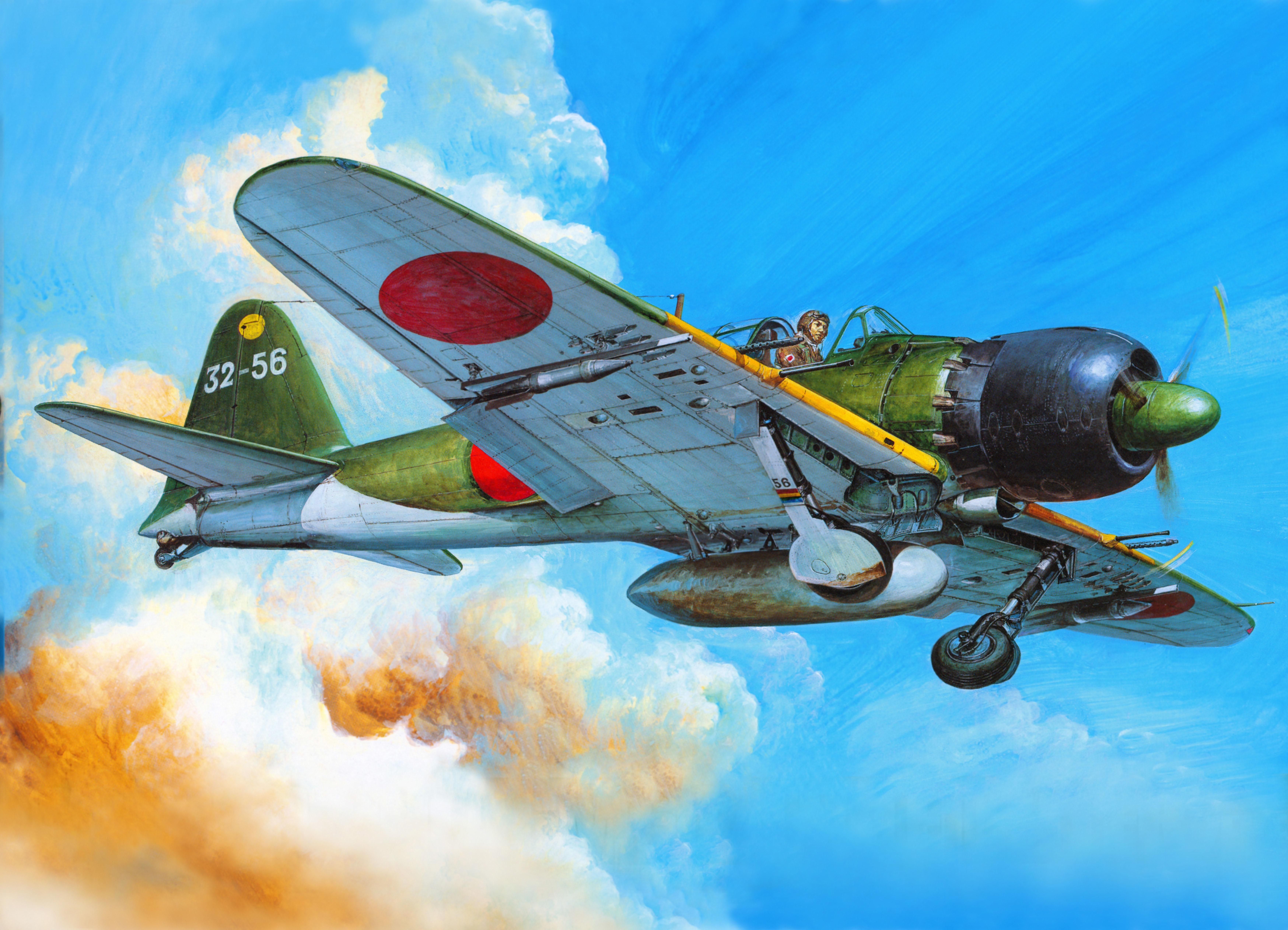 99 mitsubishi a6m zero japan wwii pacificocean - HD1920×1386