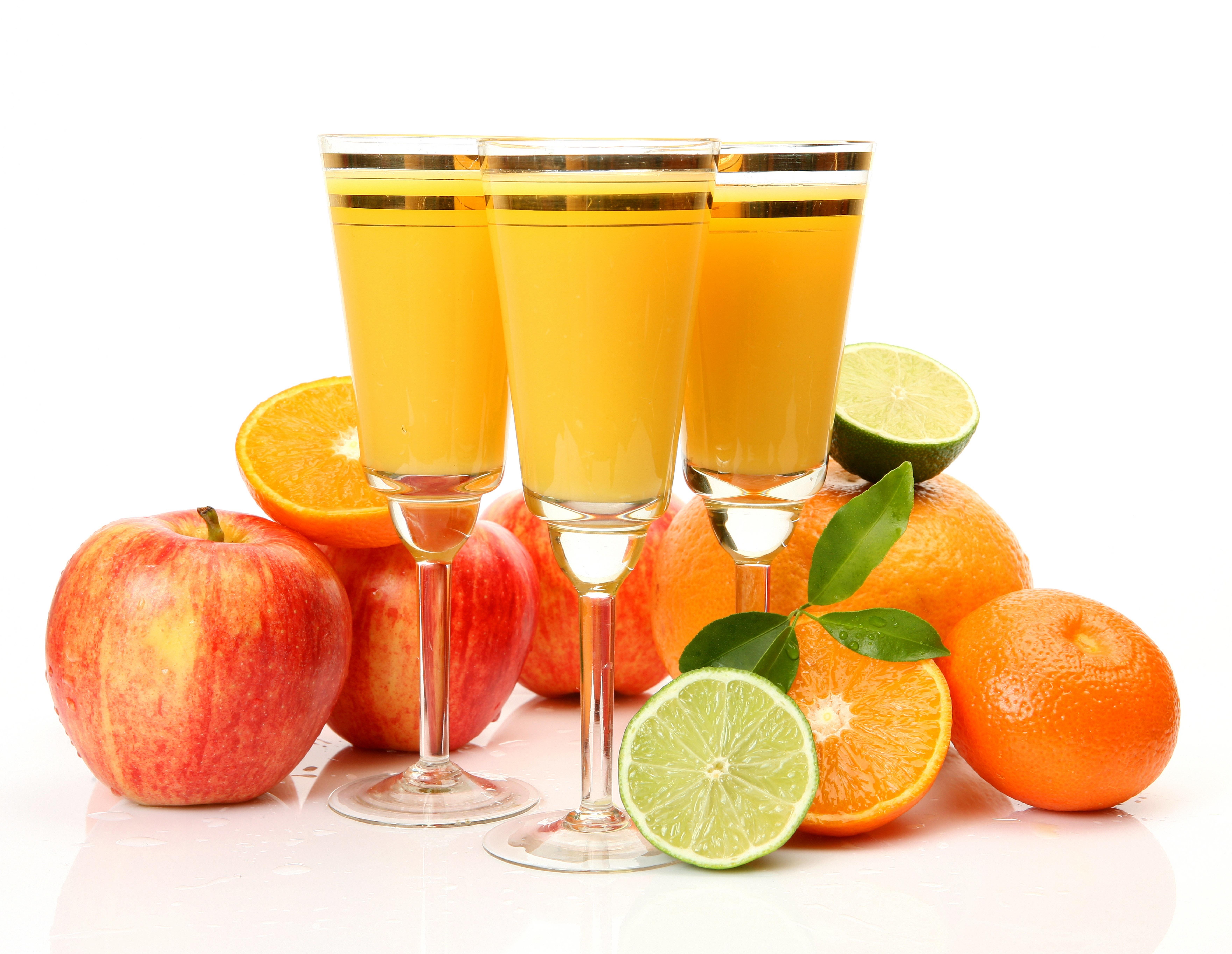 сок яблоки цитрусы помидоры  № 2265302  скачать